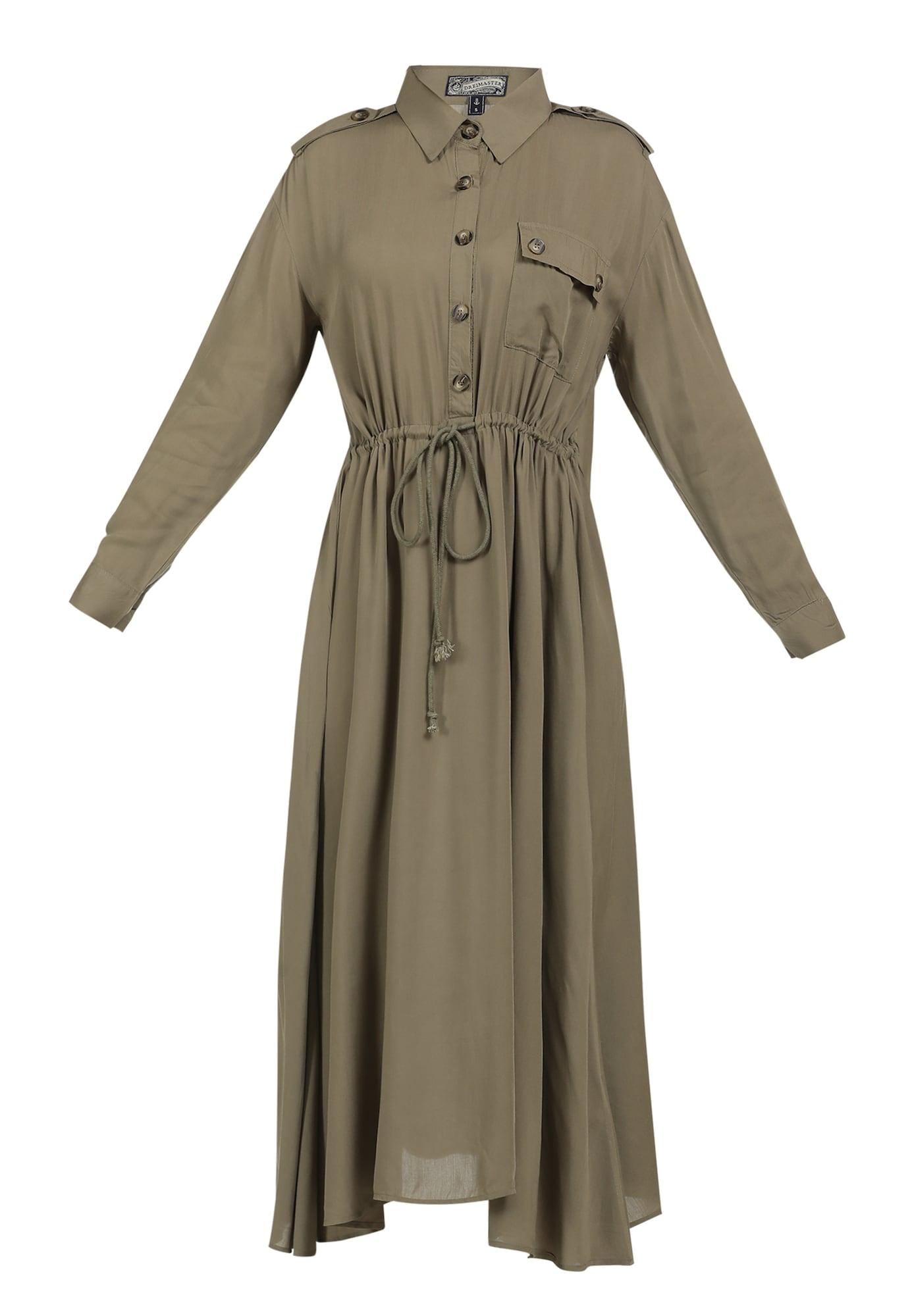 DreiMaster Vintage Palaidinės tipo suknelė brokato spalva
