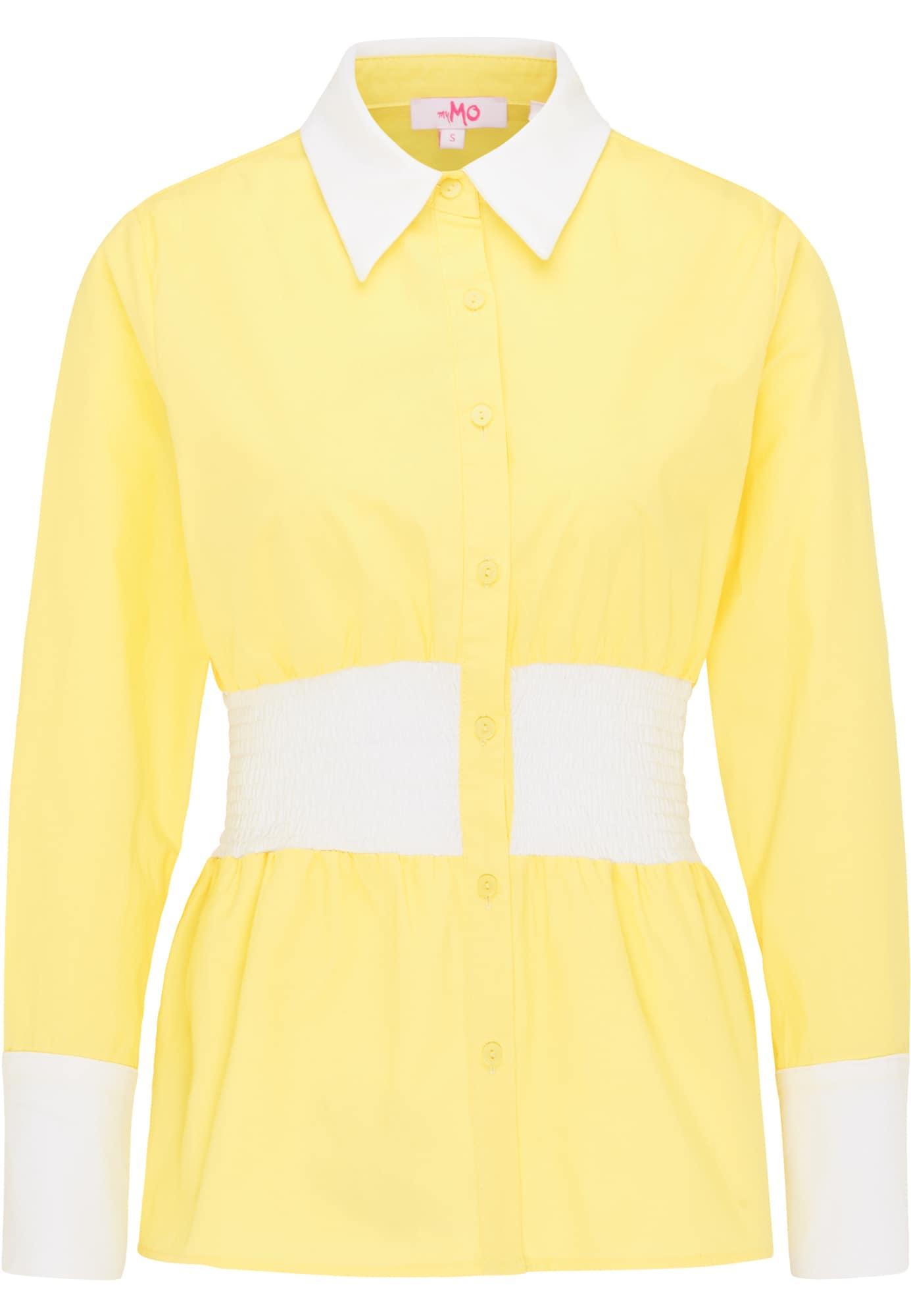 MYMO Palaidinė geltona / balta