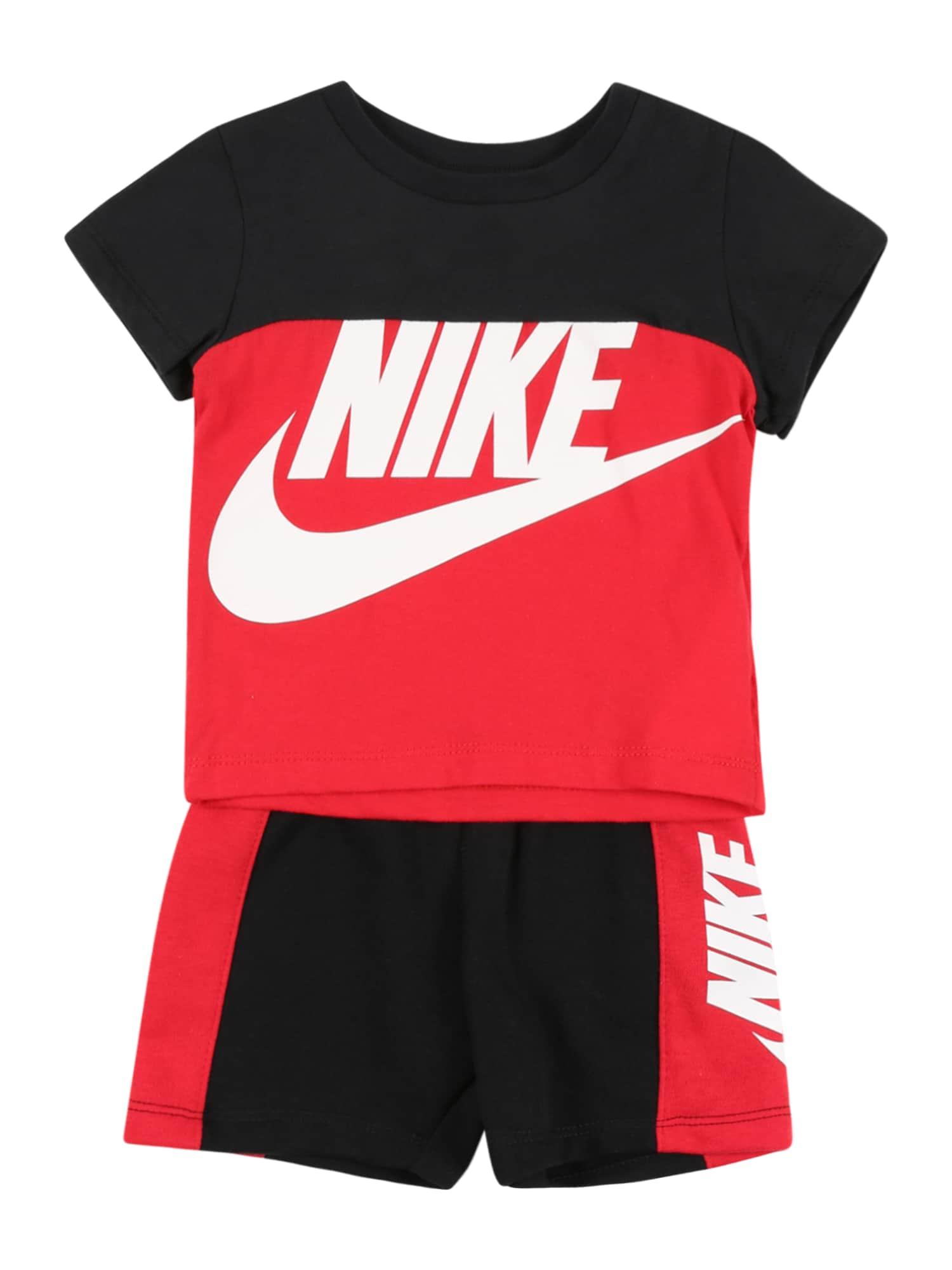 Nike Sportswear Rinkinys 'AMPLIFY' raudona / juoda / balta