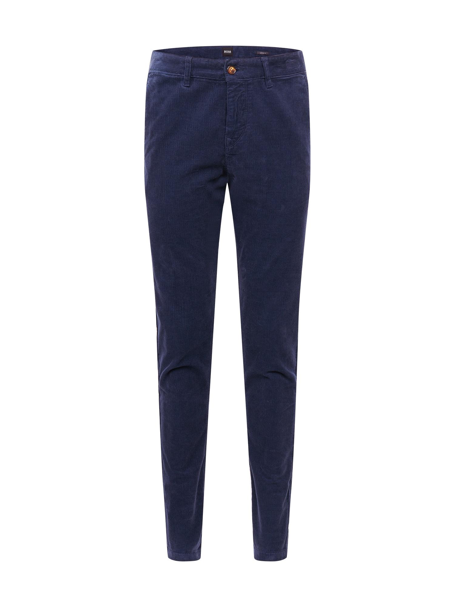 BOSS Kalhoty  námořnická modř