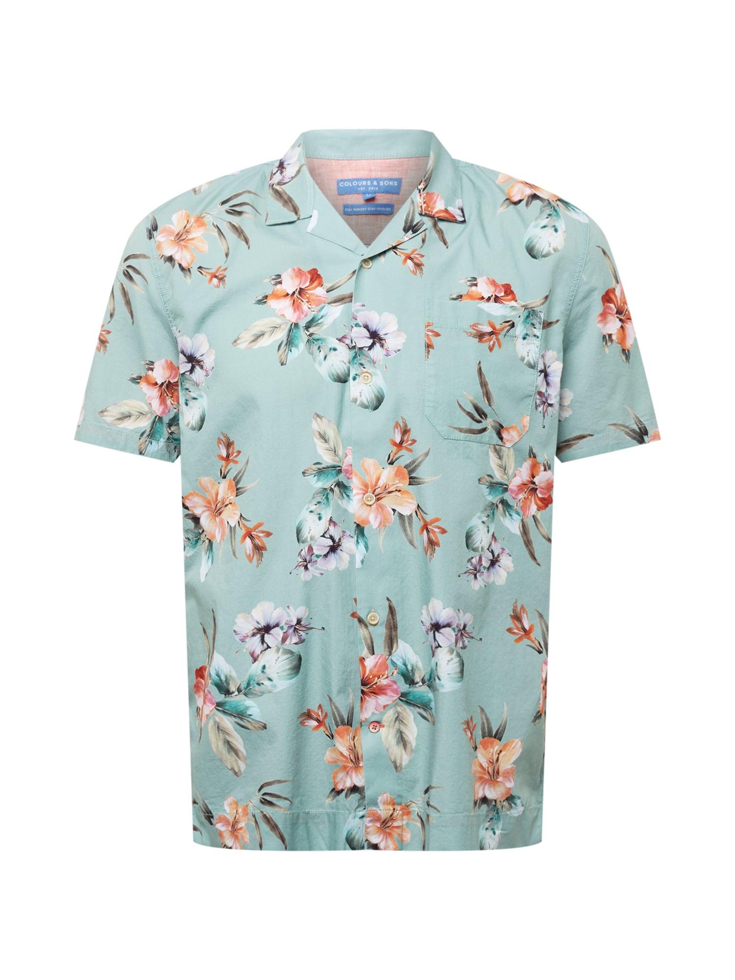 COLOURS & SONS Marškiniai mišrios spalvos / pastelinė mėlyna