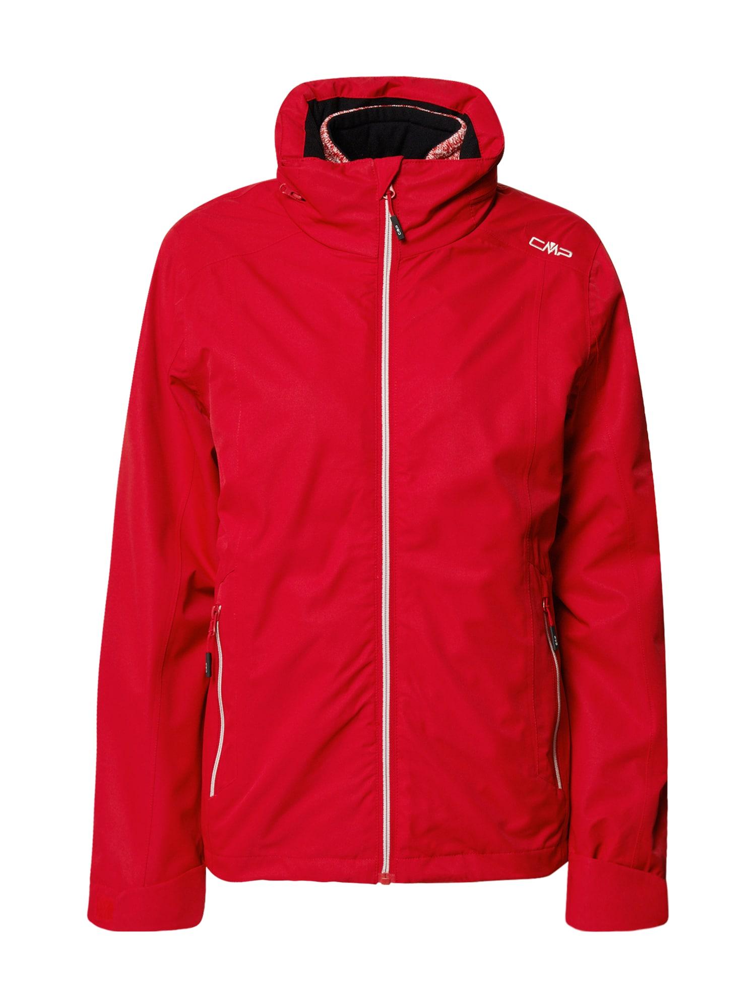 CMP Outdoorová bunda  červená