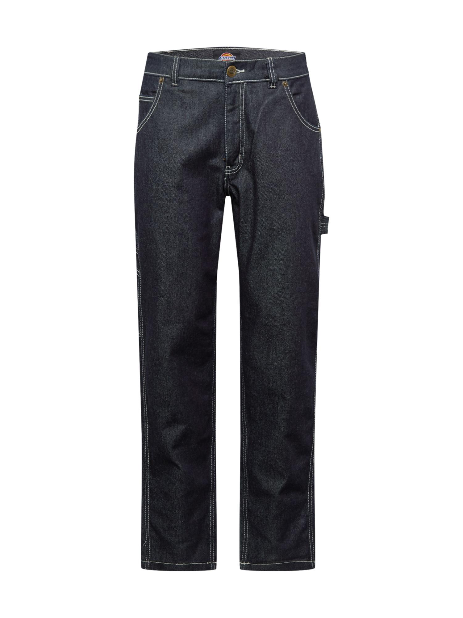 DICKIES Džinsai juodo džinso spalva