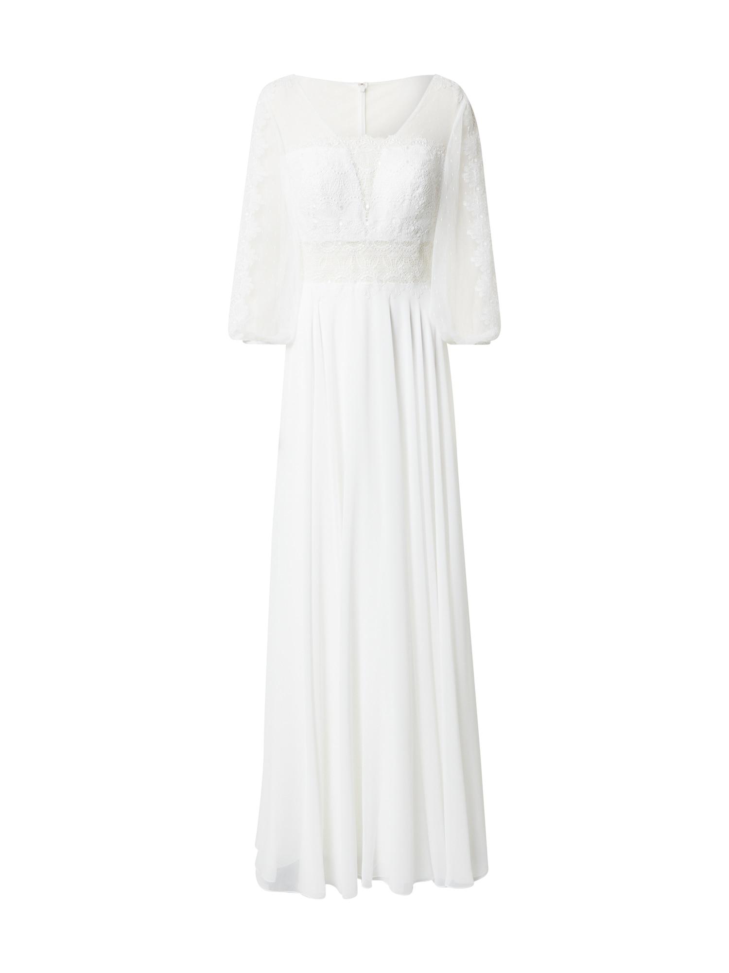 MAGIC BRIDE Vakarinė suknelė balkšva