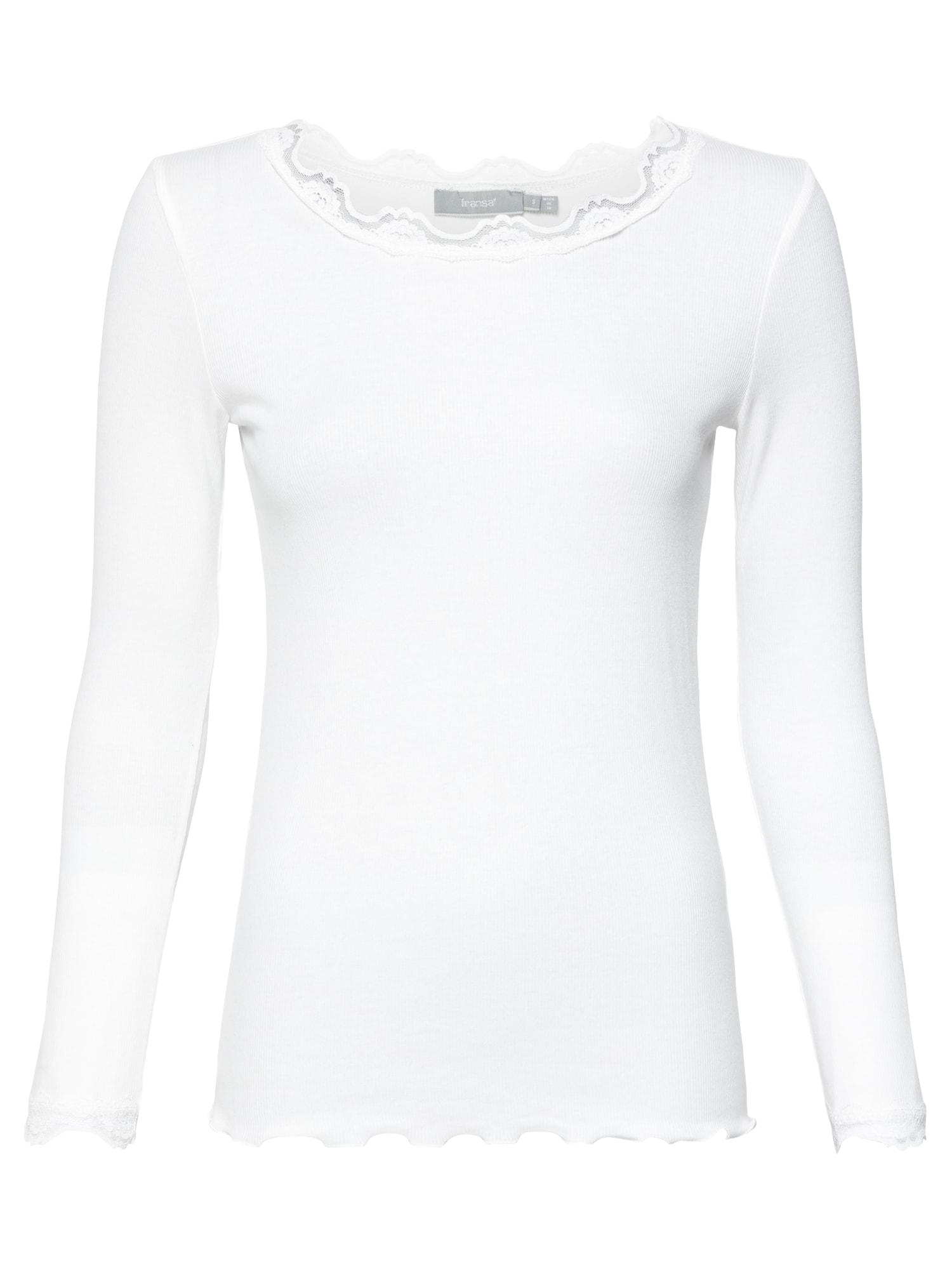 Fransa Marškinėliai balta