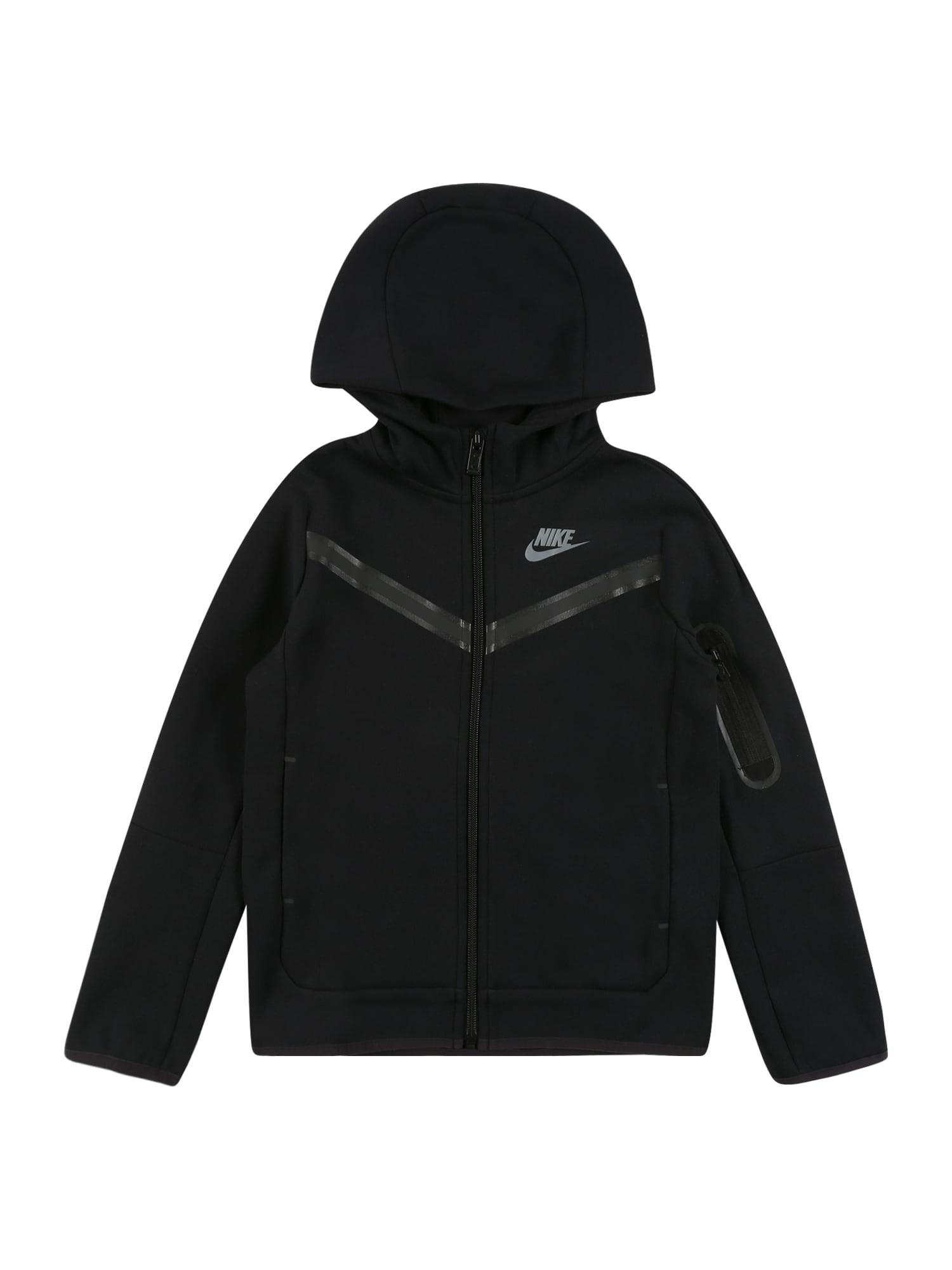 Nike Sportswear Flisinis džemperis juoda