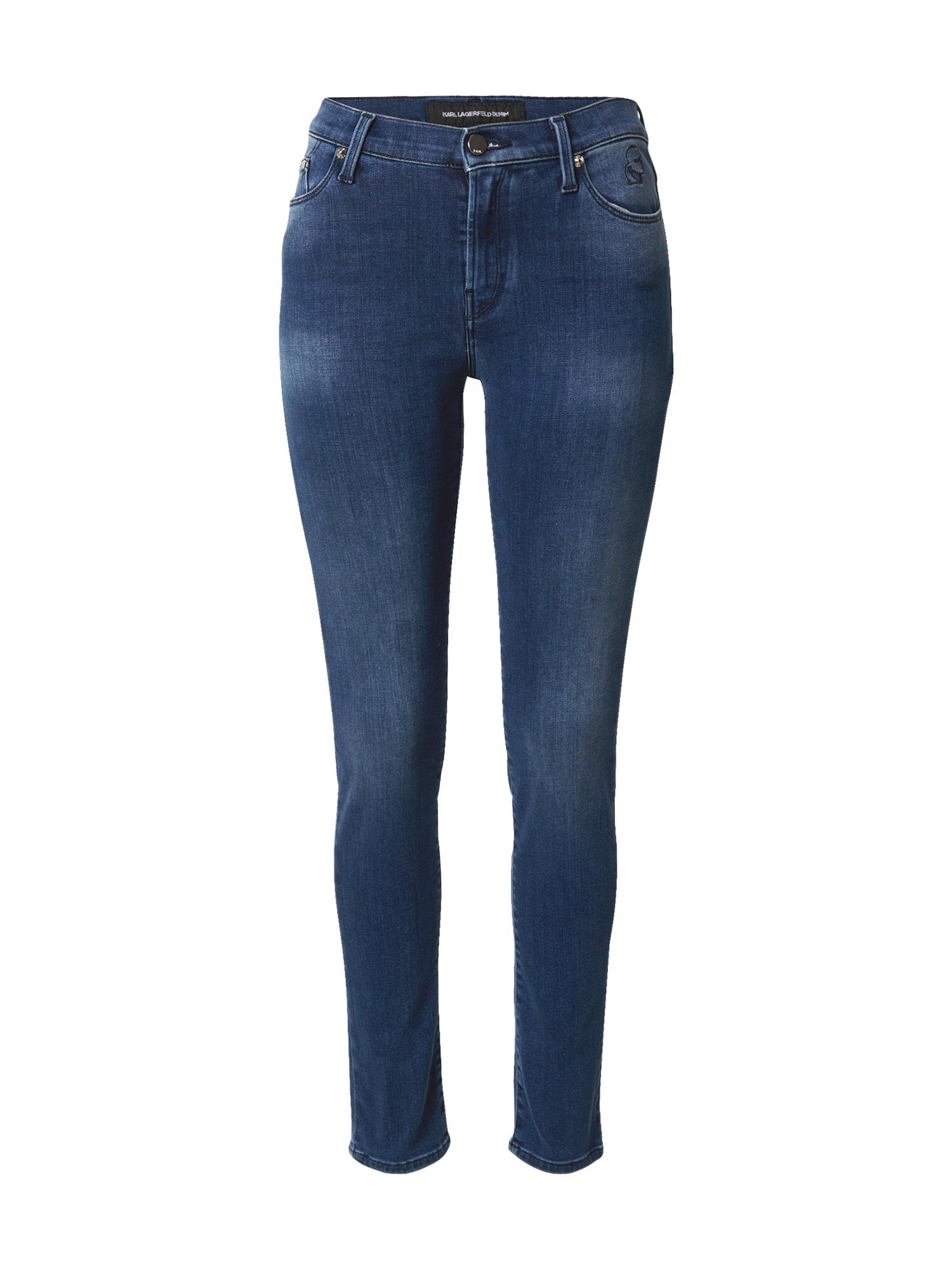 Karl Lagerfeld Denim Džíny  tmavě modrá