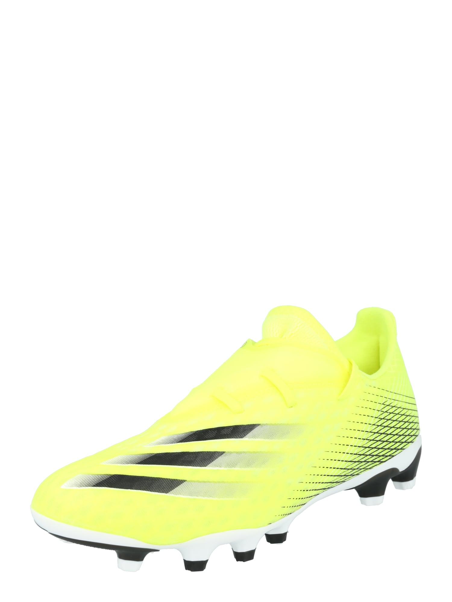ADIDAS PERFORMANCE Futbolo bateliai geltona / balta / juoda
