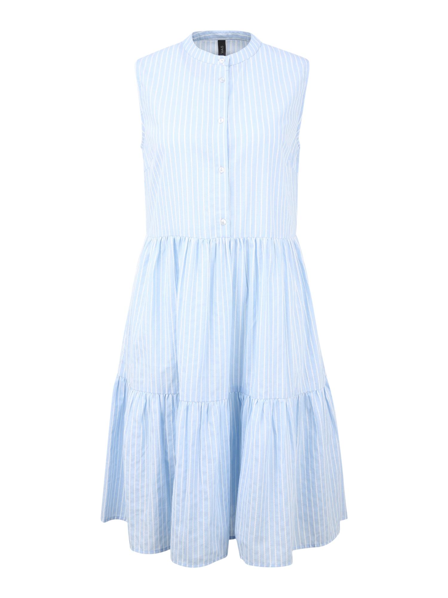 Y.A.S (Tall) Palaidinės tipo suknelė mėlyna dūmų spalva / balta
