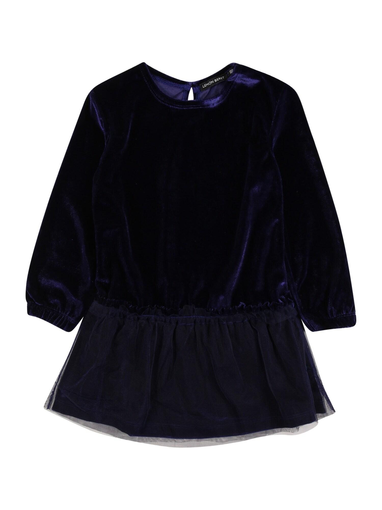 LEMON BERET Suknelė indigo spalva