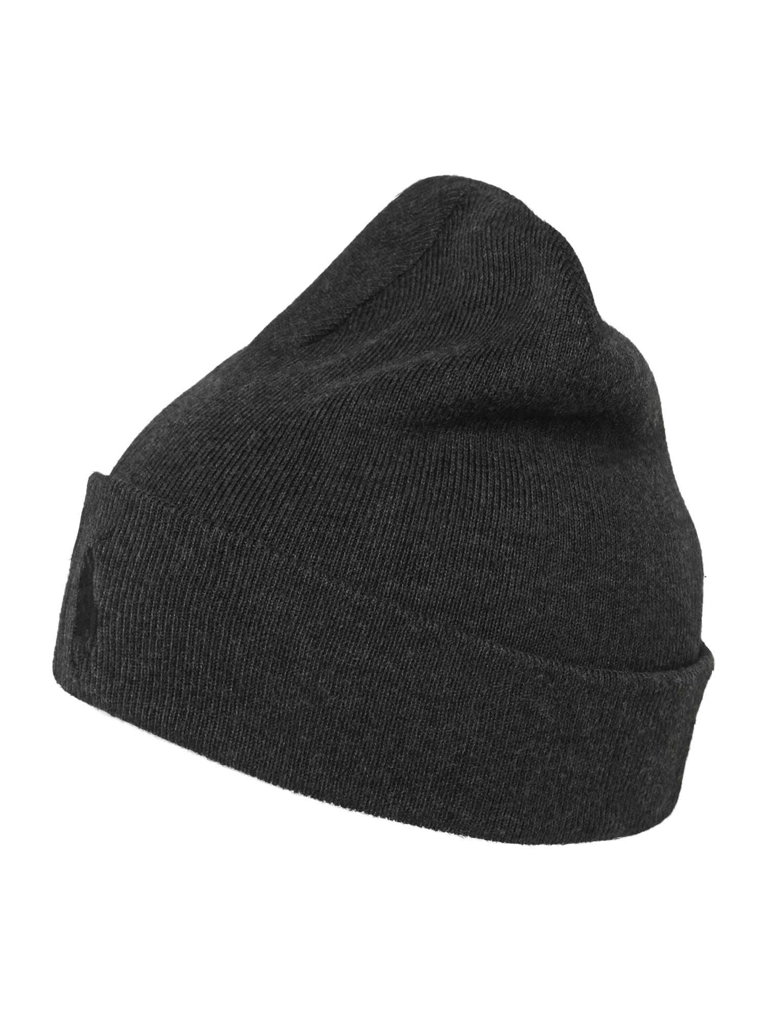 POLO RALPH LAUREN Megzta kepurė tamsiai ruda