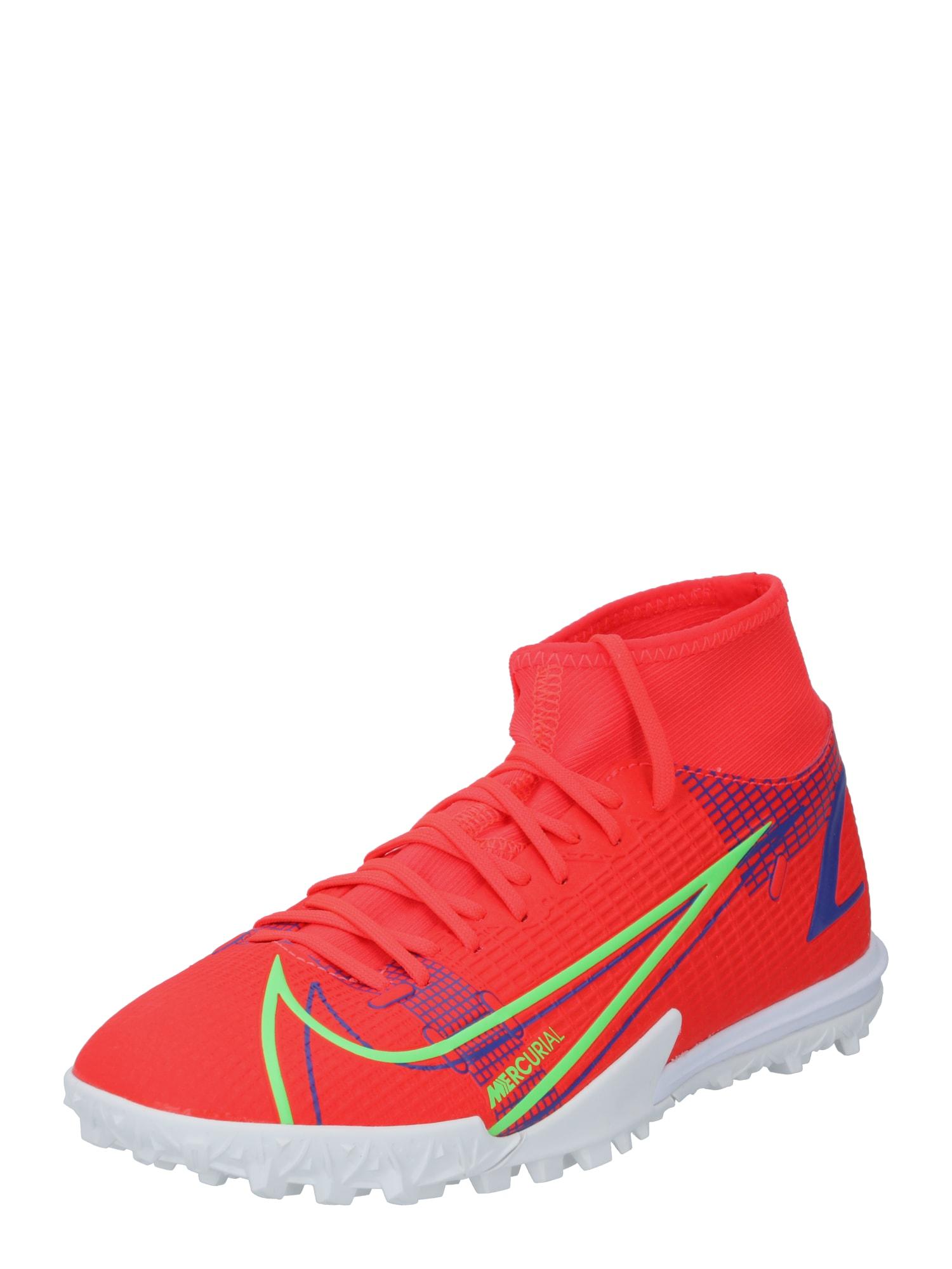 NIKE Sportiniai batai 'Nike Mercurial SF 8 Academy TF' oranžinė-raudona