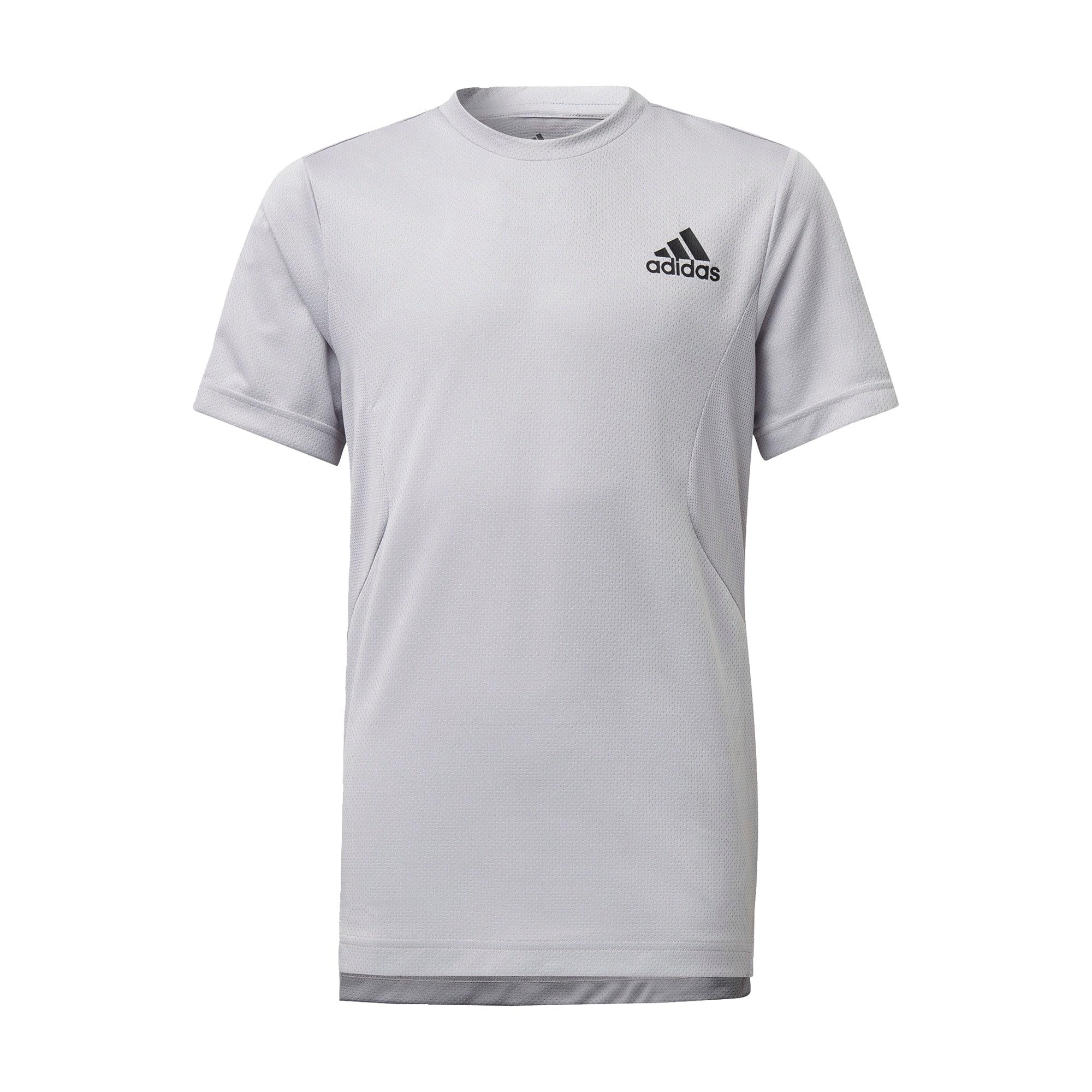 ADIDAS PERFORMANCE Sportiniai marškinėliai pilka / balta / juoda