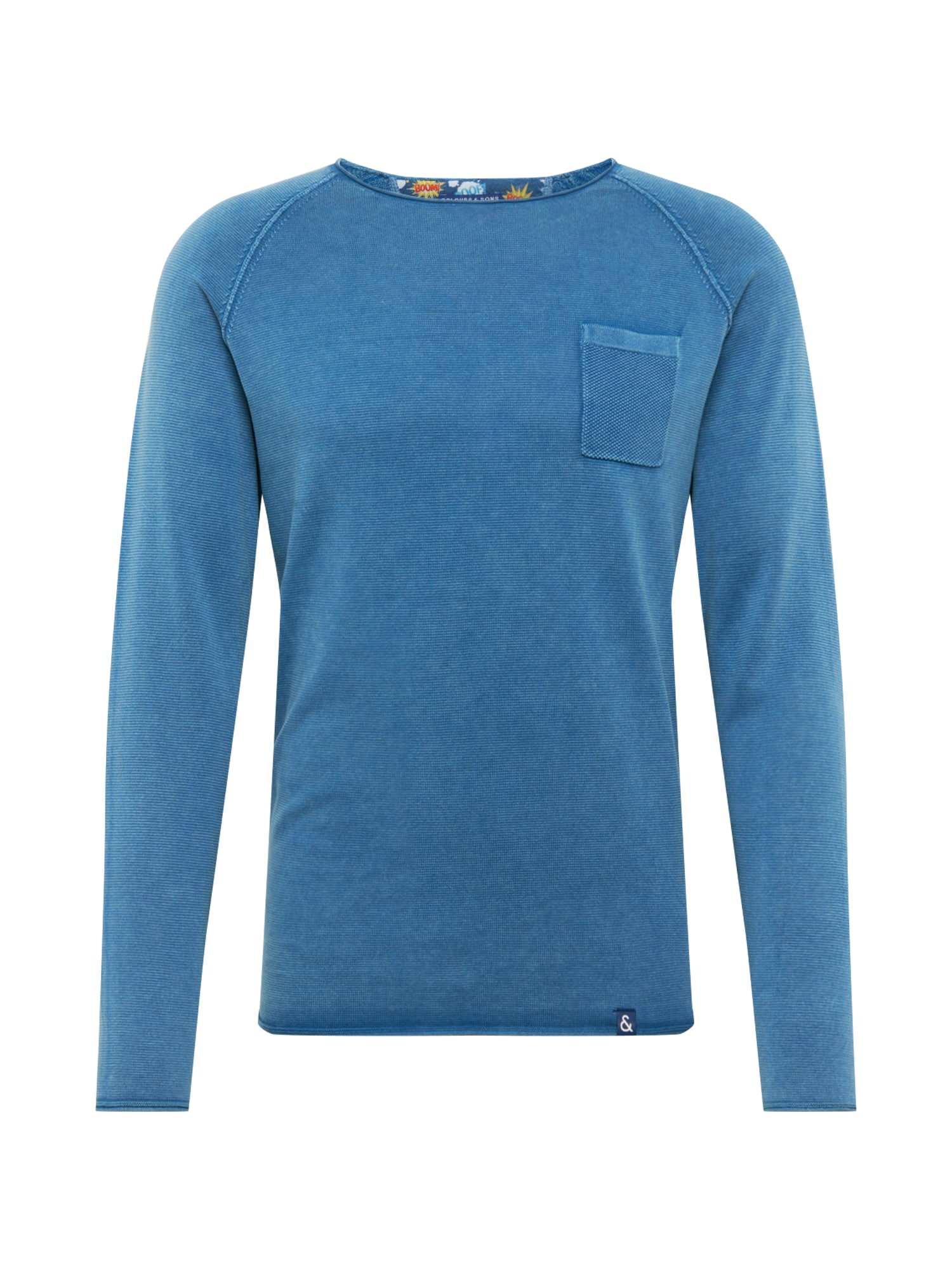 COLOURS & SONS Tričko  modrá