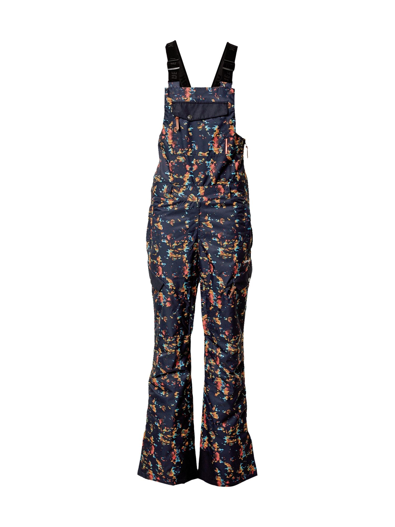 ICEPEAK Outdoorové kalhoty 'COWETA'  tmavě modrá / mix barev