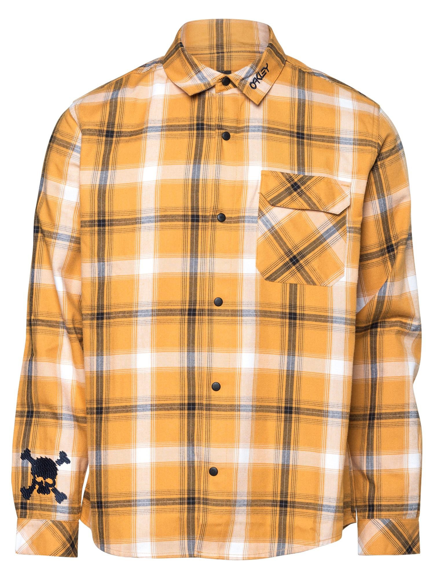 OAKLEY Marškiniai geltona / balta / antracito
