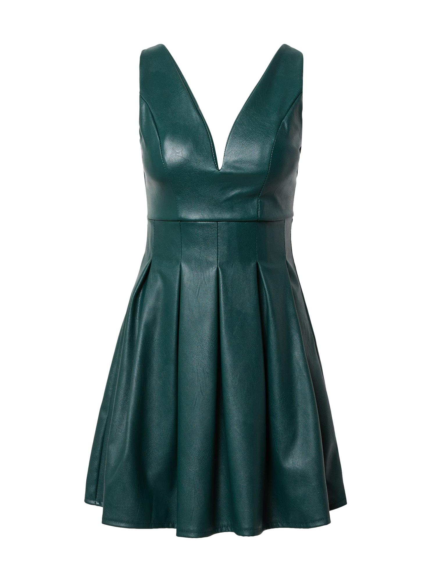 WAL G. Suknelė smaragdinė spalva