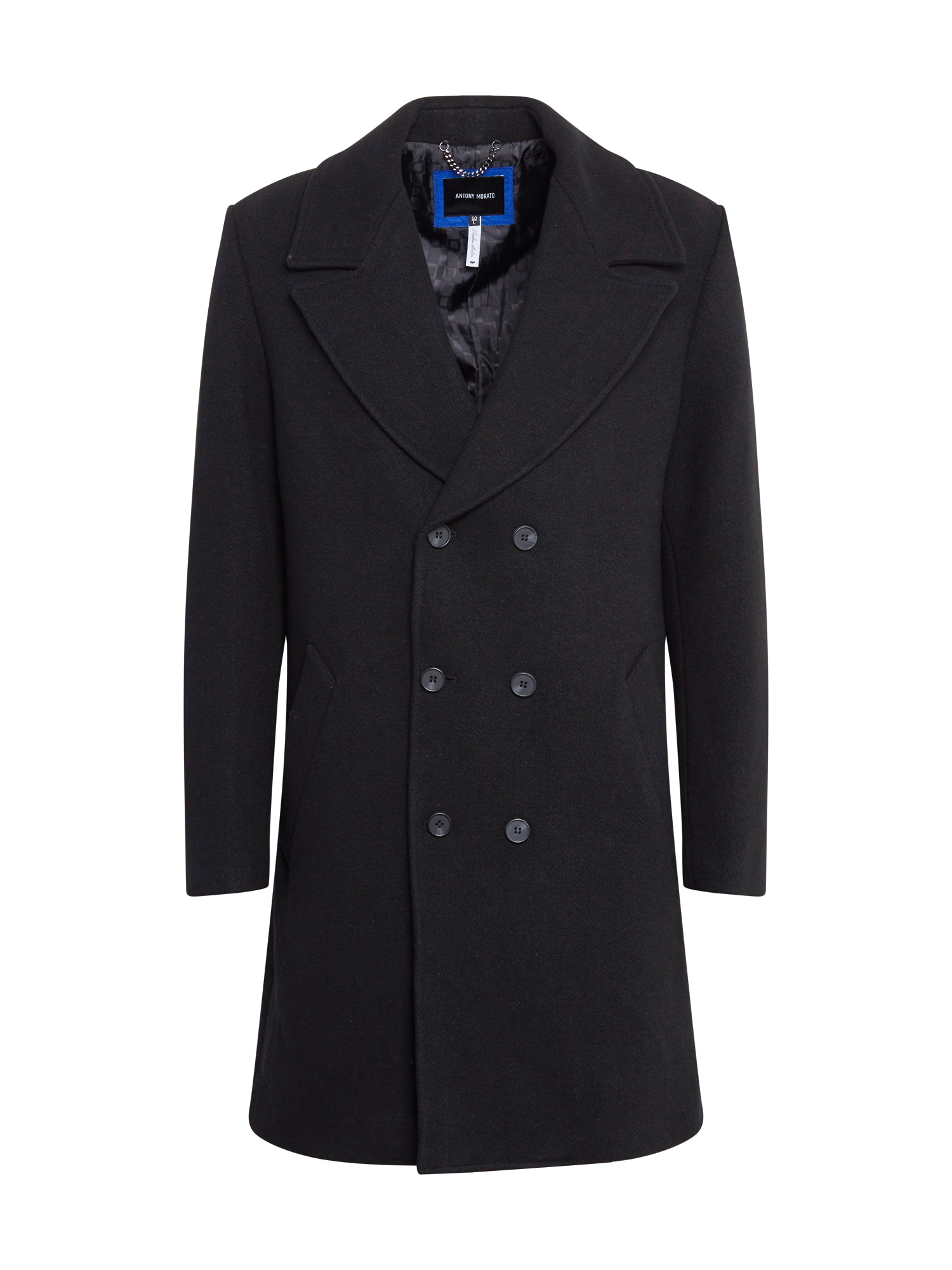 ANTONY MORATO Demisezoninis paltas juoda