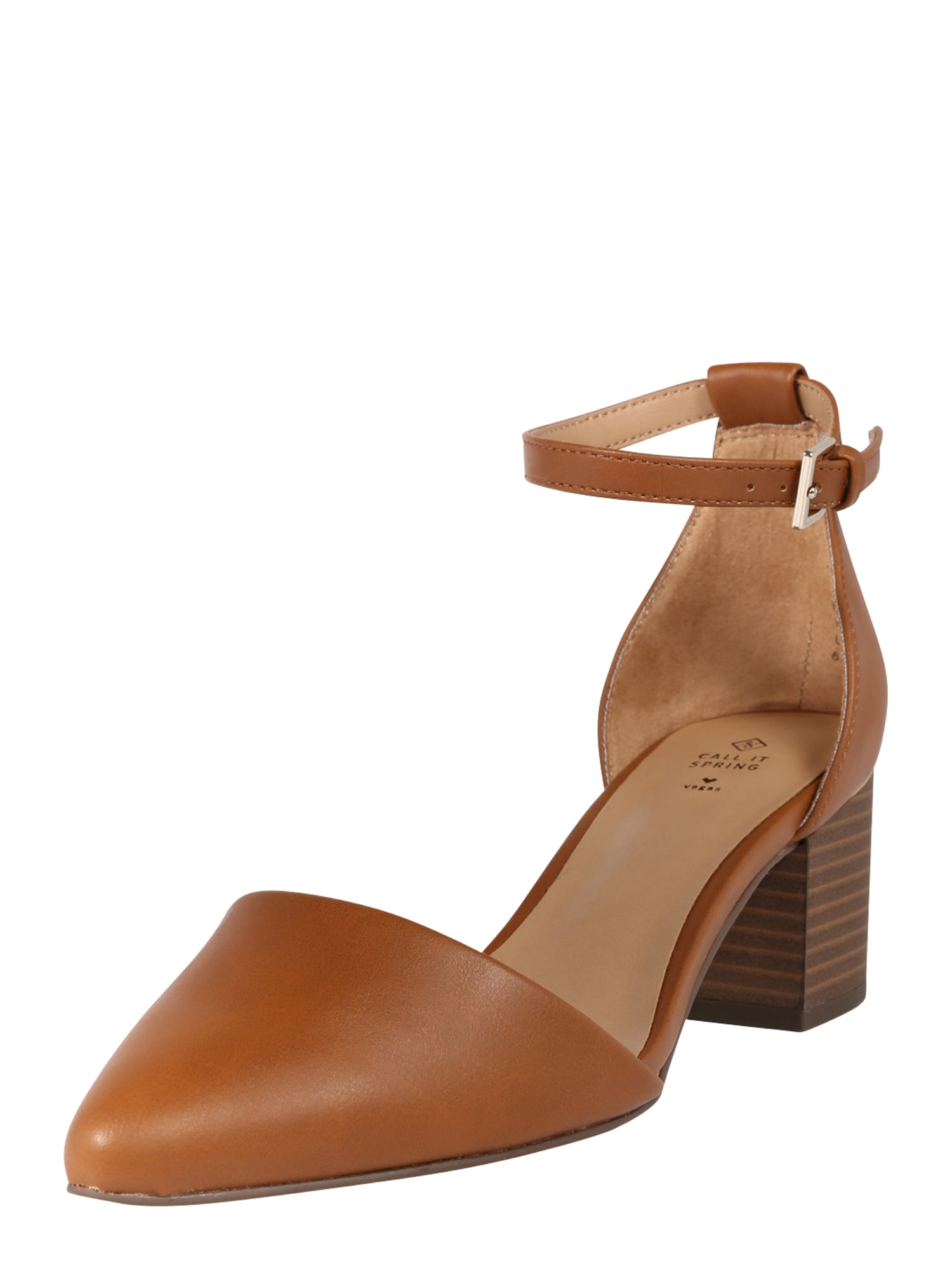 CALL IT SPRING Remienkové sandále 'Drizzy'  koňaková
