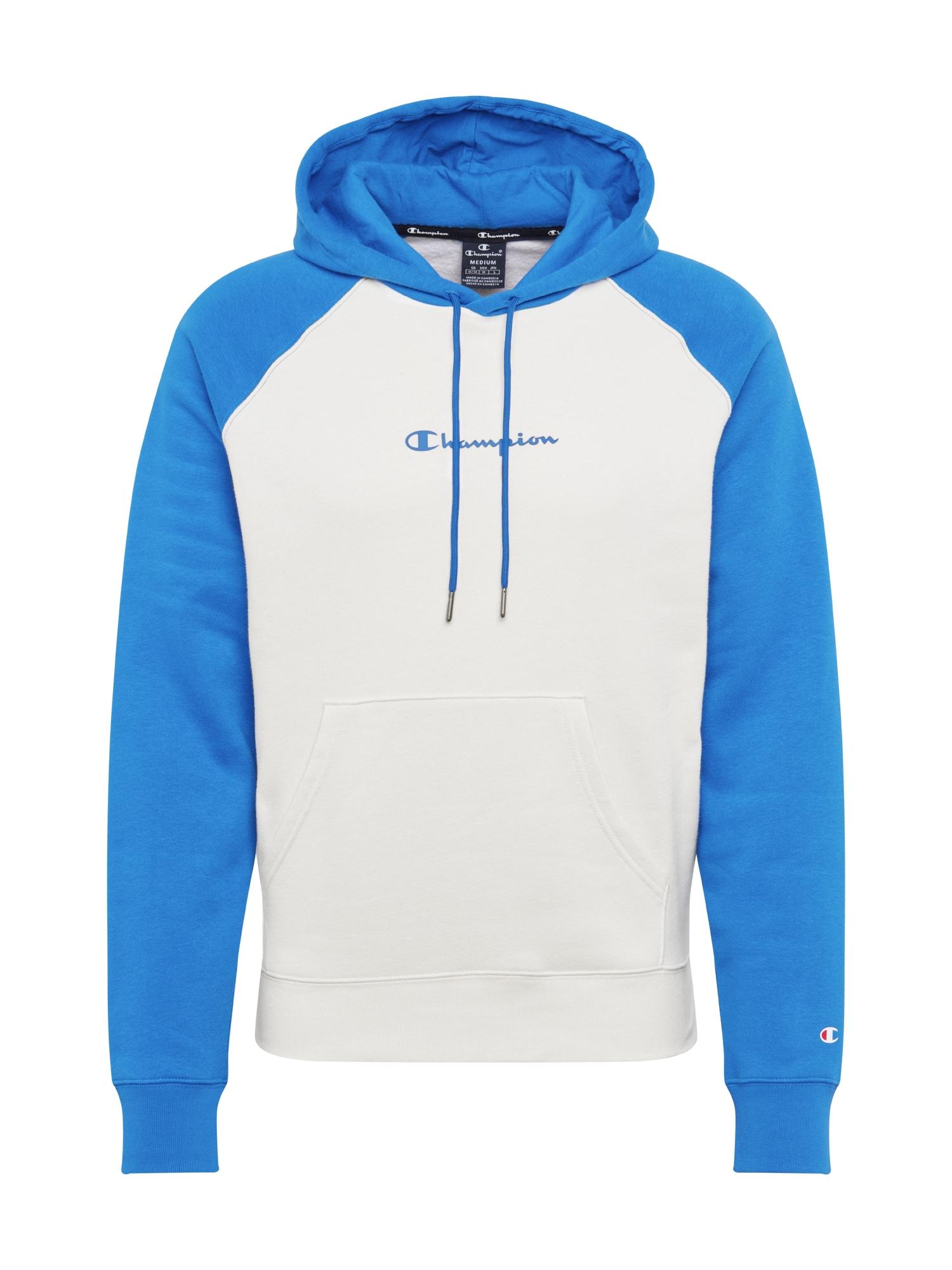Champion Authentic Athletic Apparel Megztinis be užsegimo balkšva / dangaus žydra