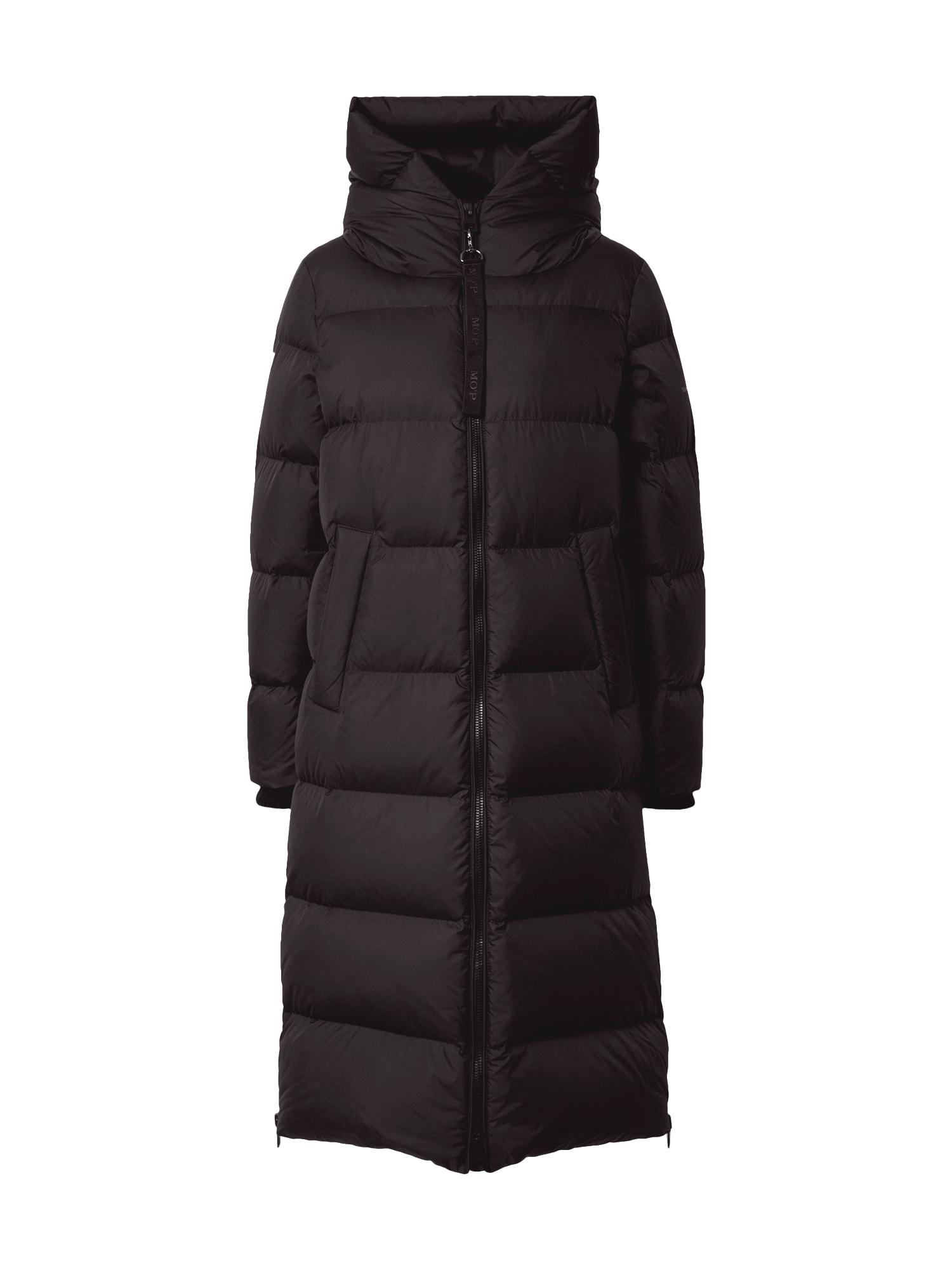 Marc O'Polo Zimní kabát 'WOVEN COATS'  černá