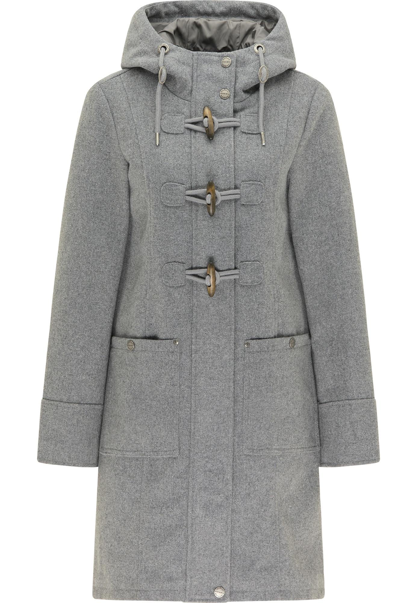 DreiMaster Klassik Demisezoninis paltas pilka