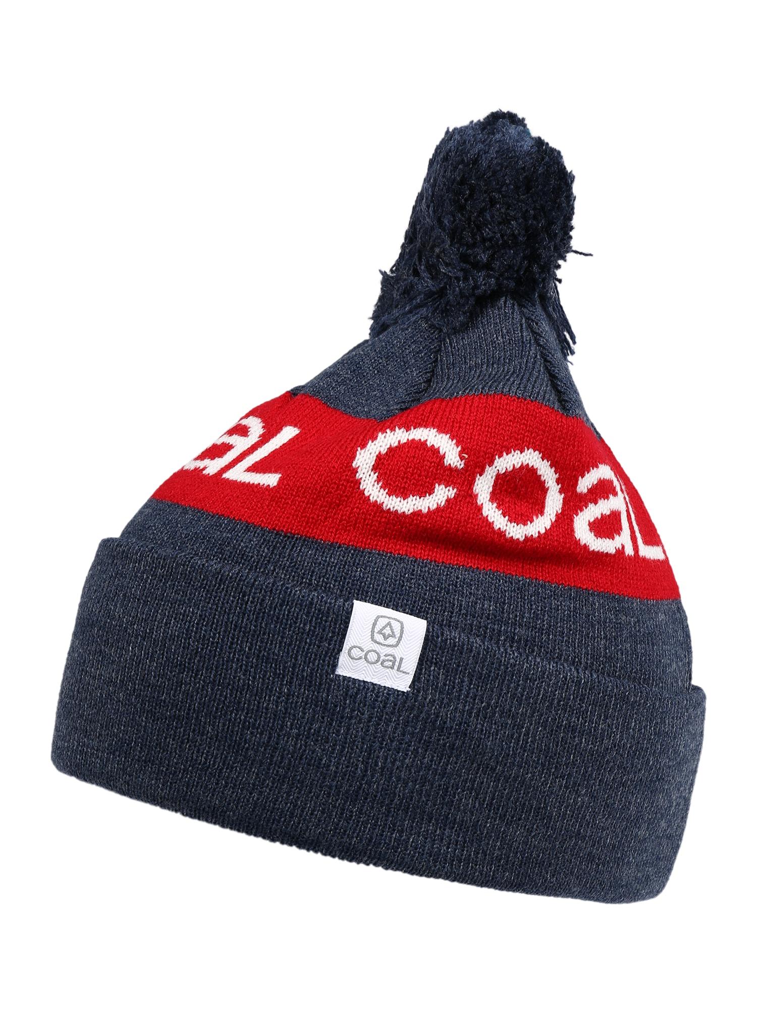 Coal Sportovní čepice  bílá / červená / námořnická modř