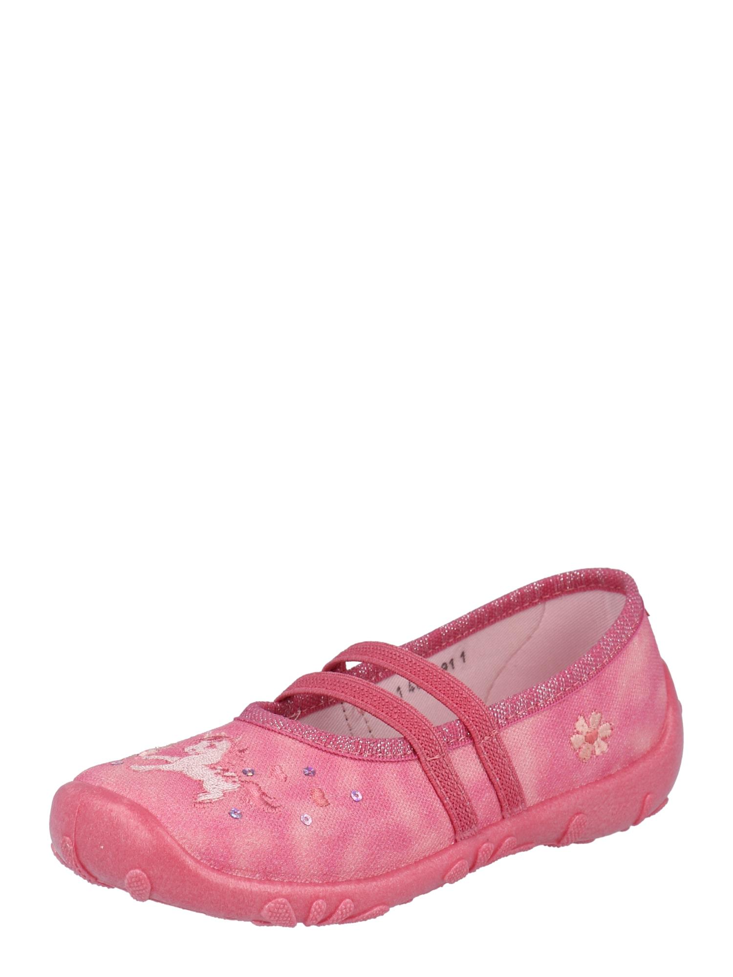 ELEFANTEN Naminės šlepetės 'Penelope' šviesiai rožinė / mėlyna / pastelinė geltona