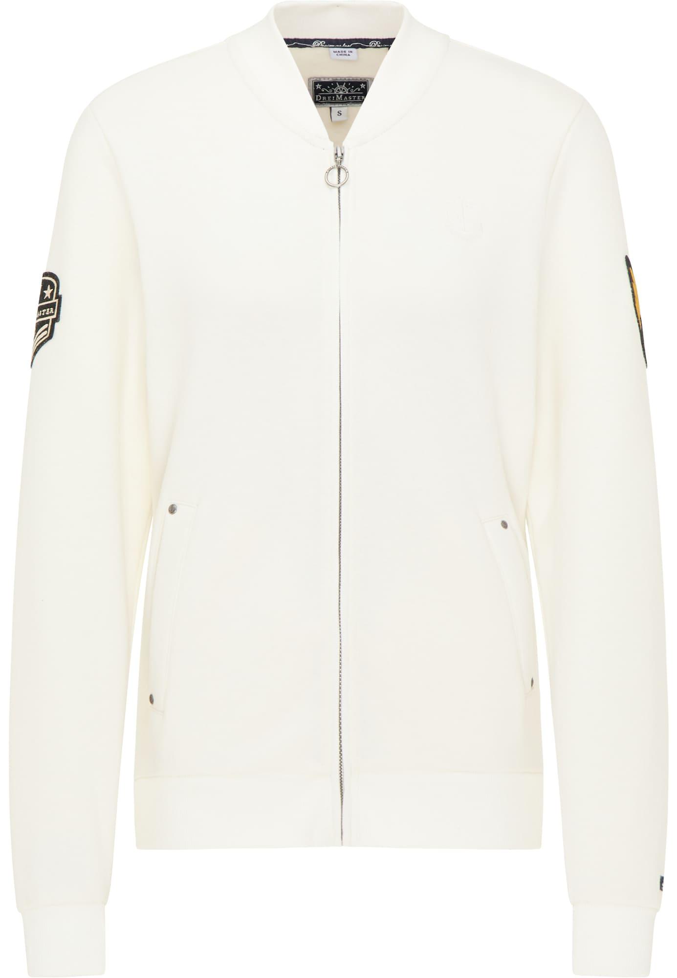 DreiMaster Maritim Džemperis natūrali balta