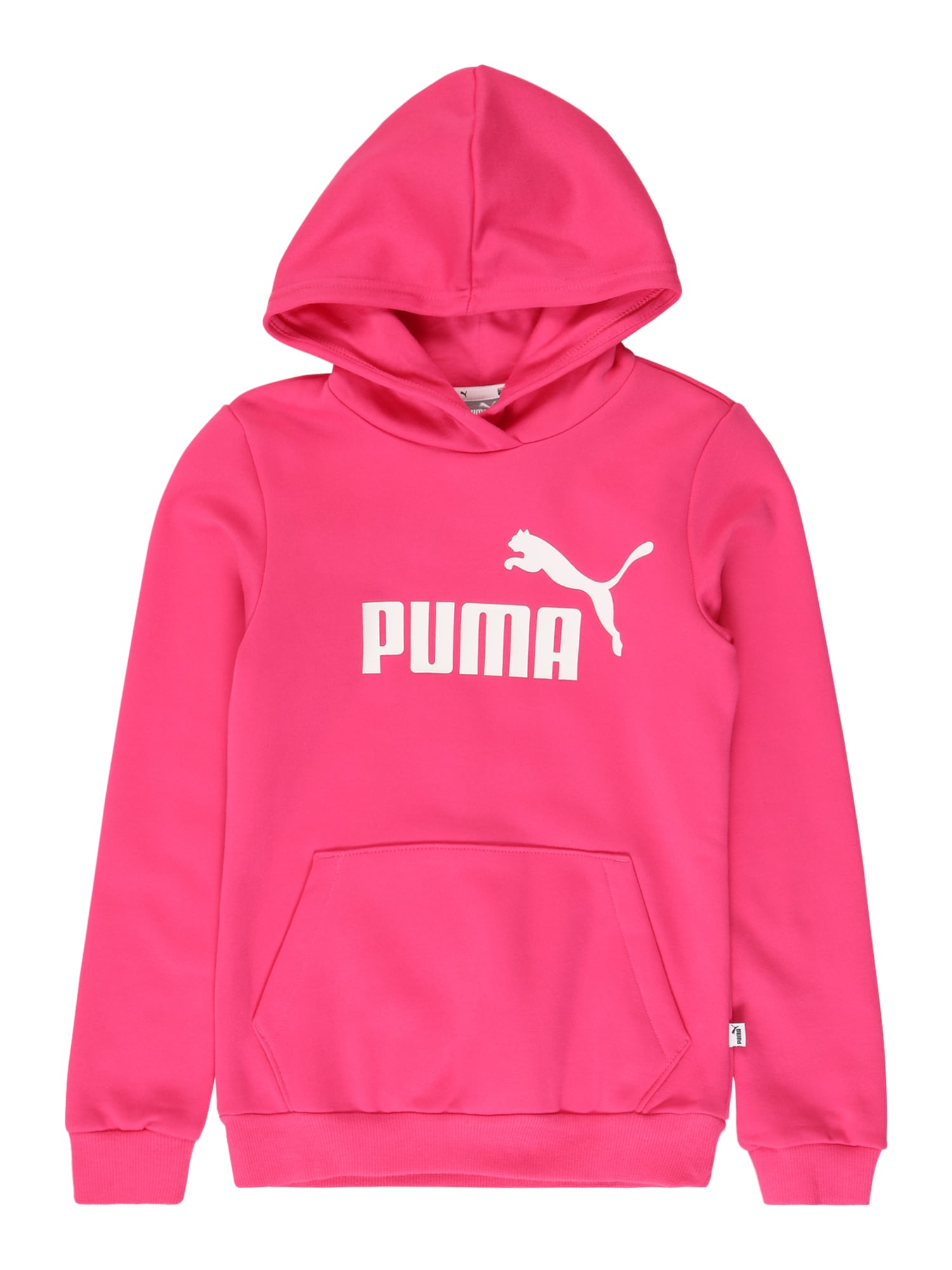 PUMA Sportinio tipo megztinis rožinė / balta