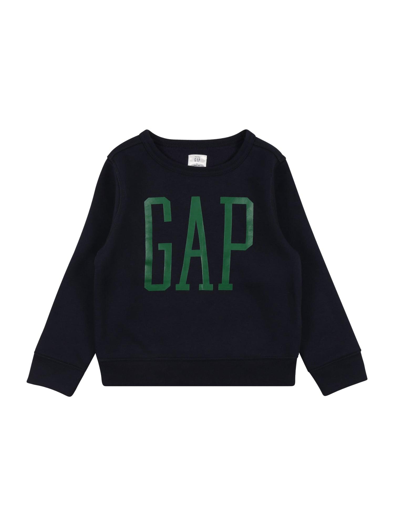 GAP Megztinis be užsegimo tamsiai mėlyna / žalia