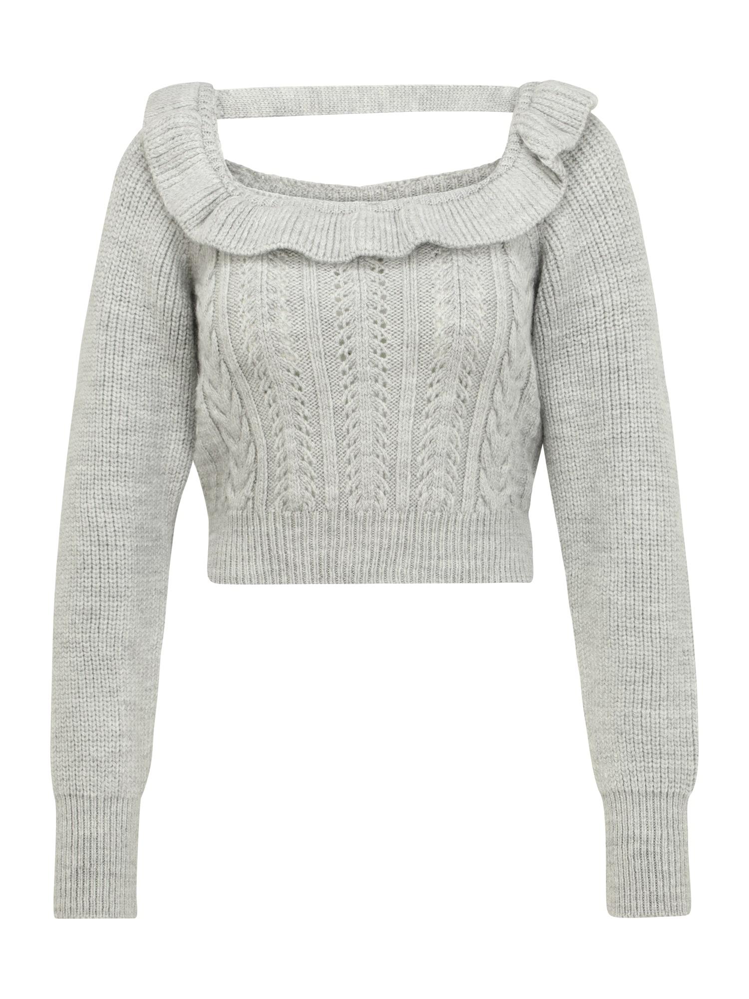 Miss Selfridge (Petite) Megztinis pilka