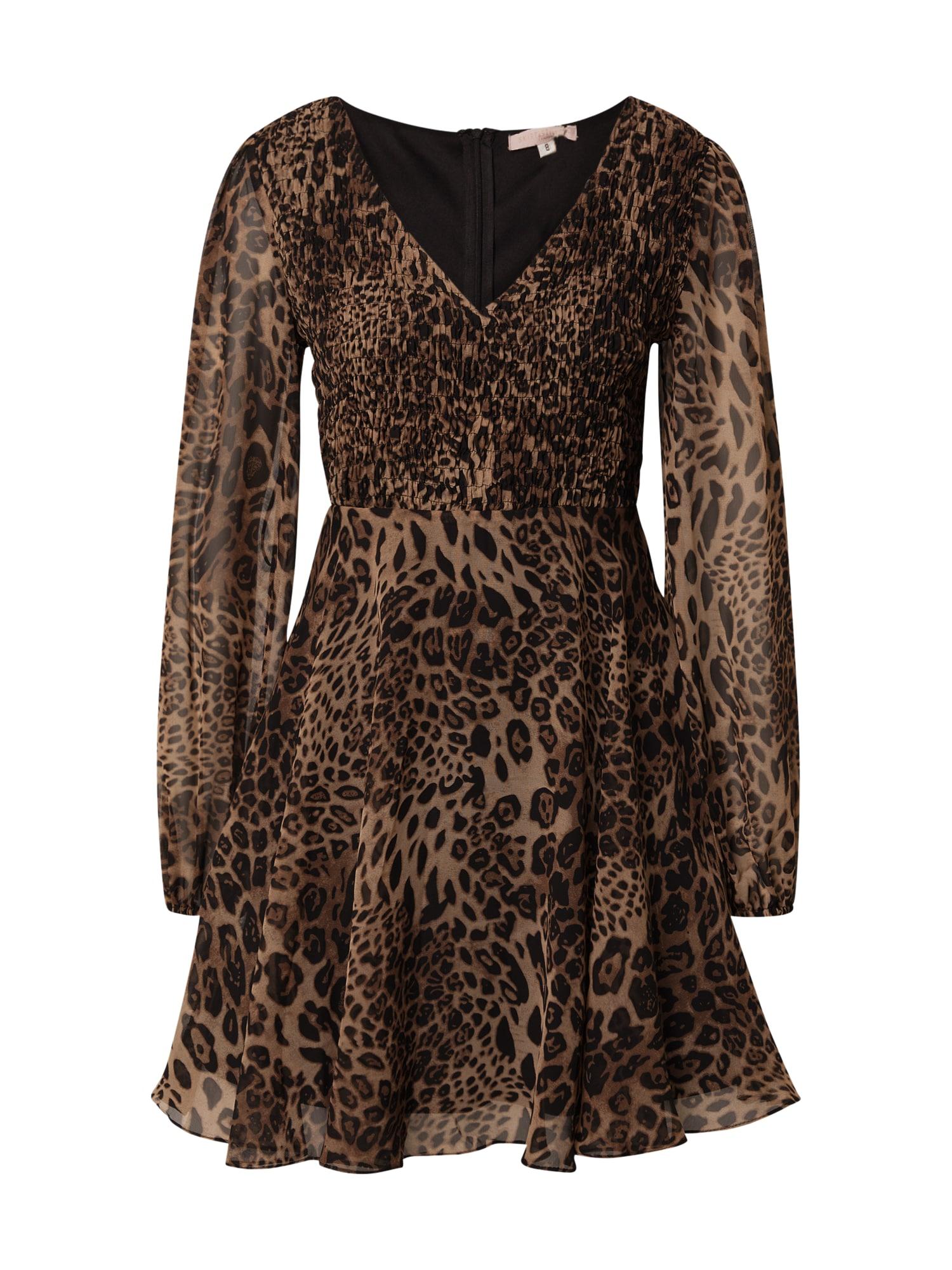 Skirt & Stiletto Suknelė karamelės / kaštoninė spalva / šviesiai ruda