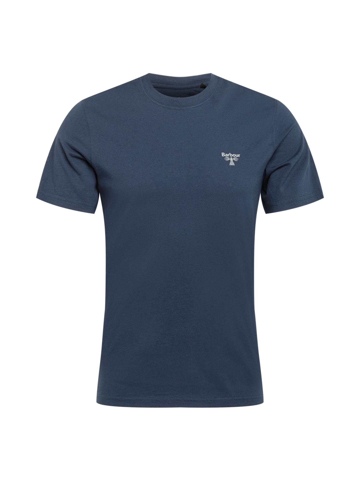 Barbour Beacon Marškinėliai tamsiai mėlyna / balta