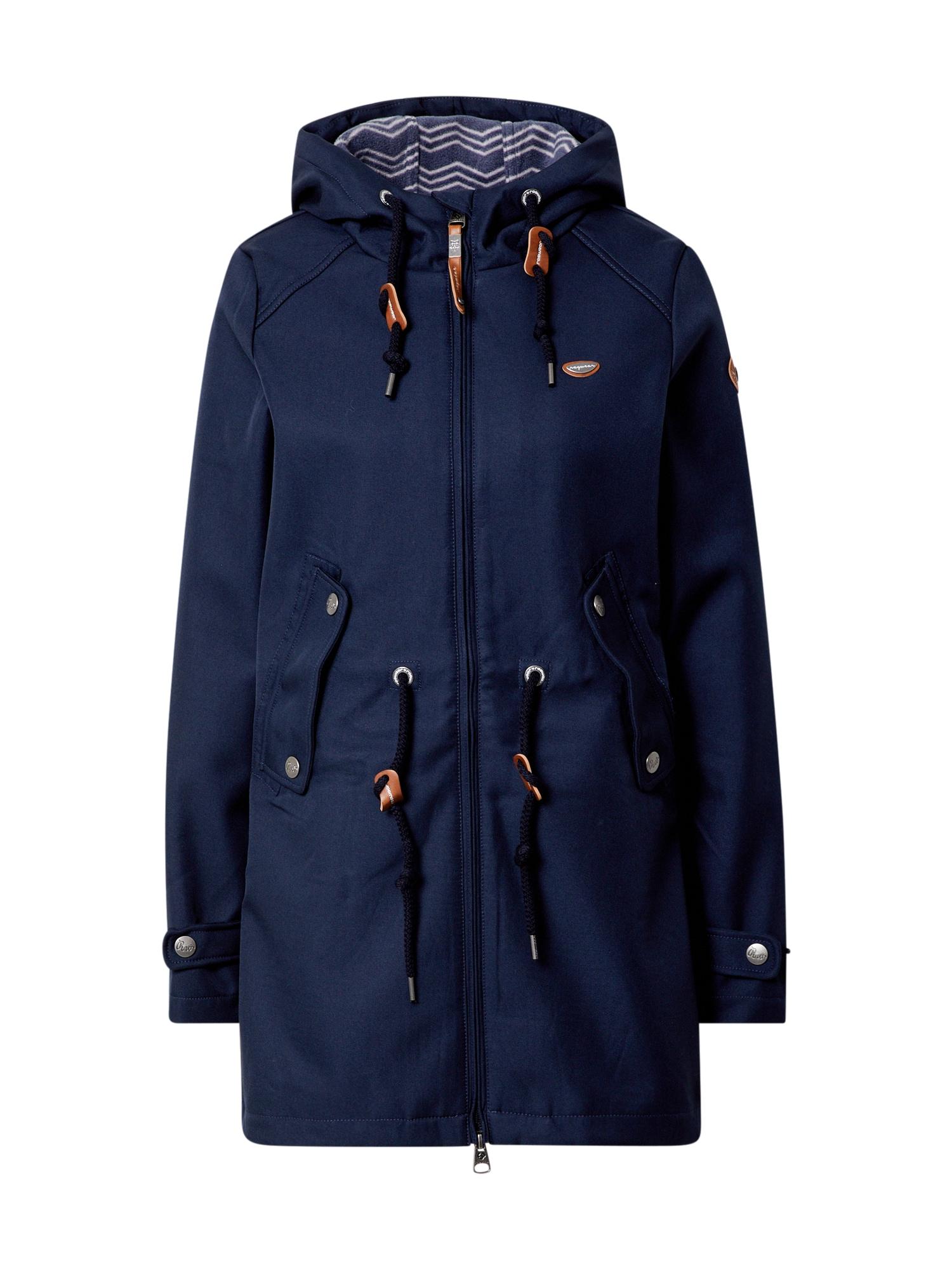 Ragwear Demisezoninis paltas tamsiai mėlyna