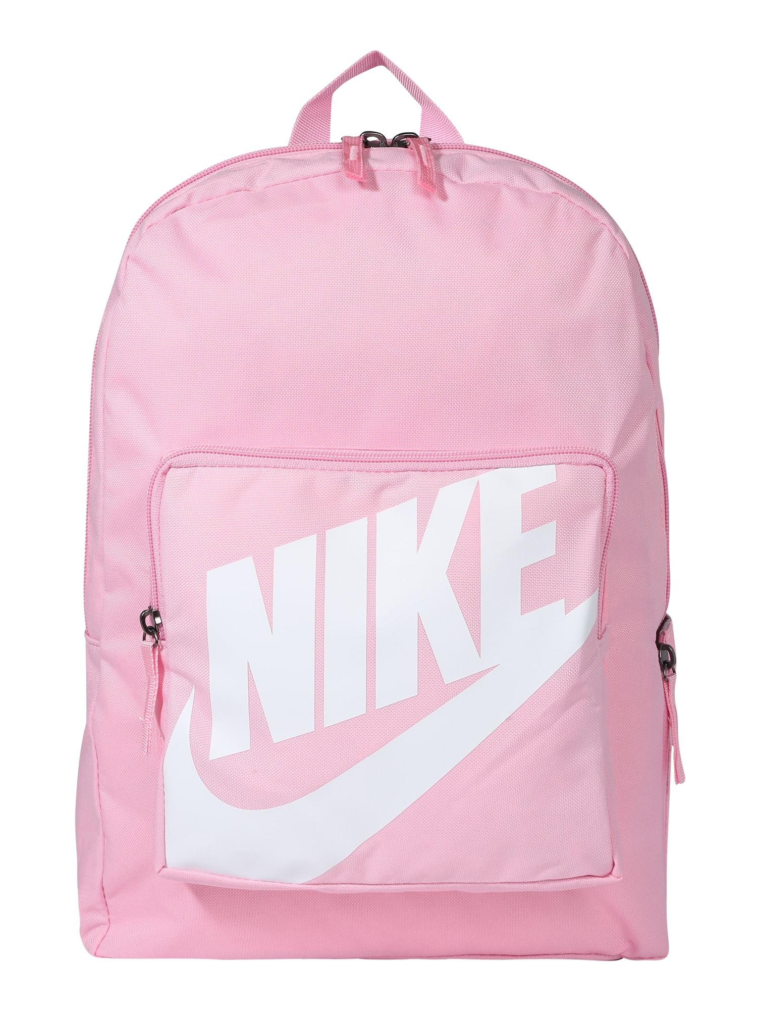 Nike Sportswear Kuprinė balta / rožių spalva