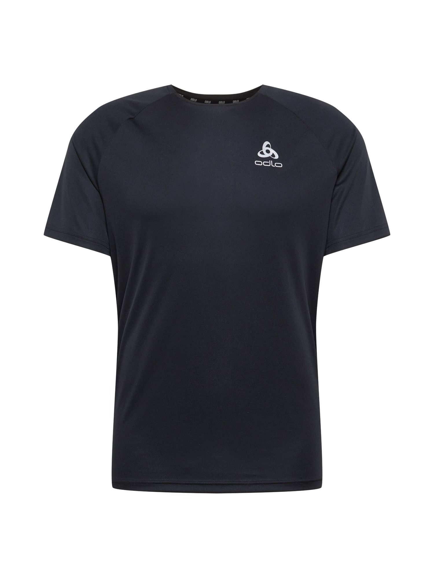 ODLO Sportiniai marškinėliai juoda / balta
