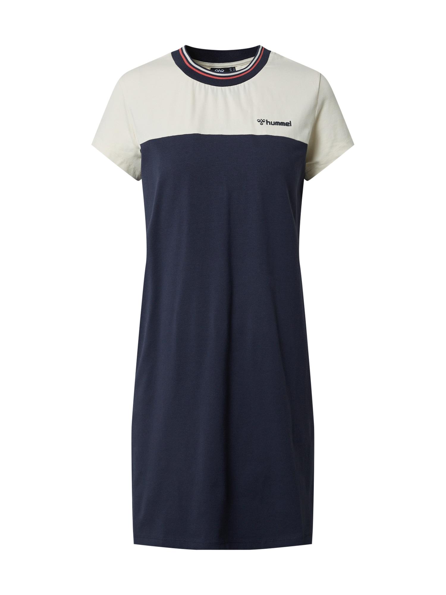 Hummel Sportinė suknelė tamsiai mėlyna / balta