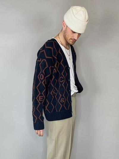 Gebreid vest 'Snake'