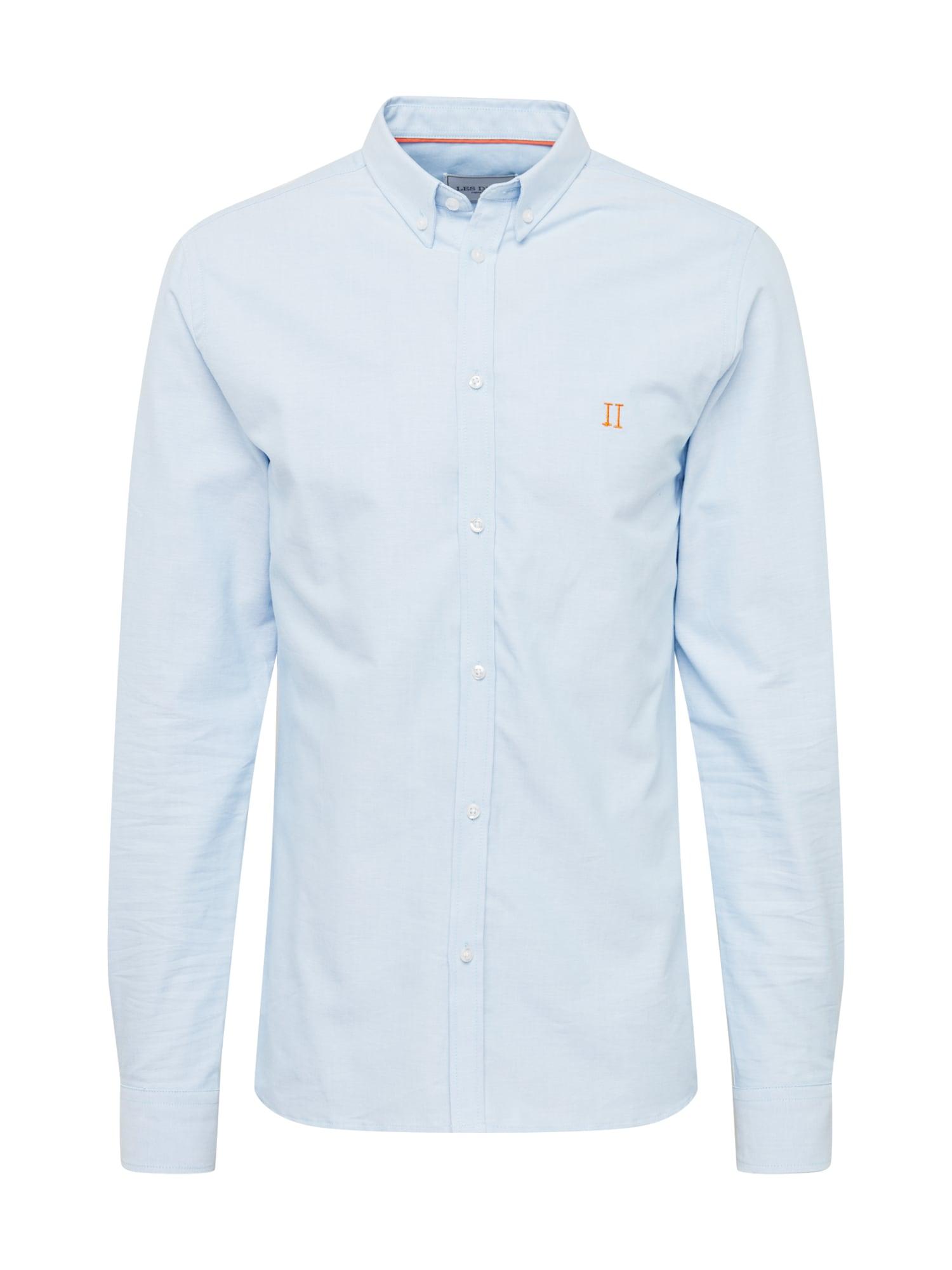 Les Deux Marškiniai šviesiai oranžinė / šviesiai mėlyna