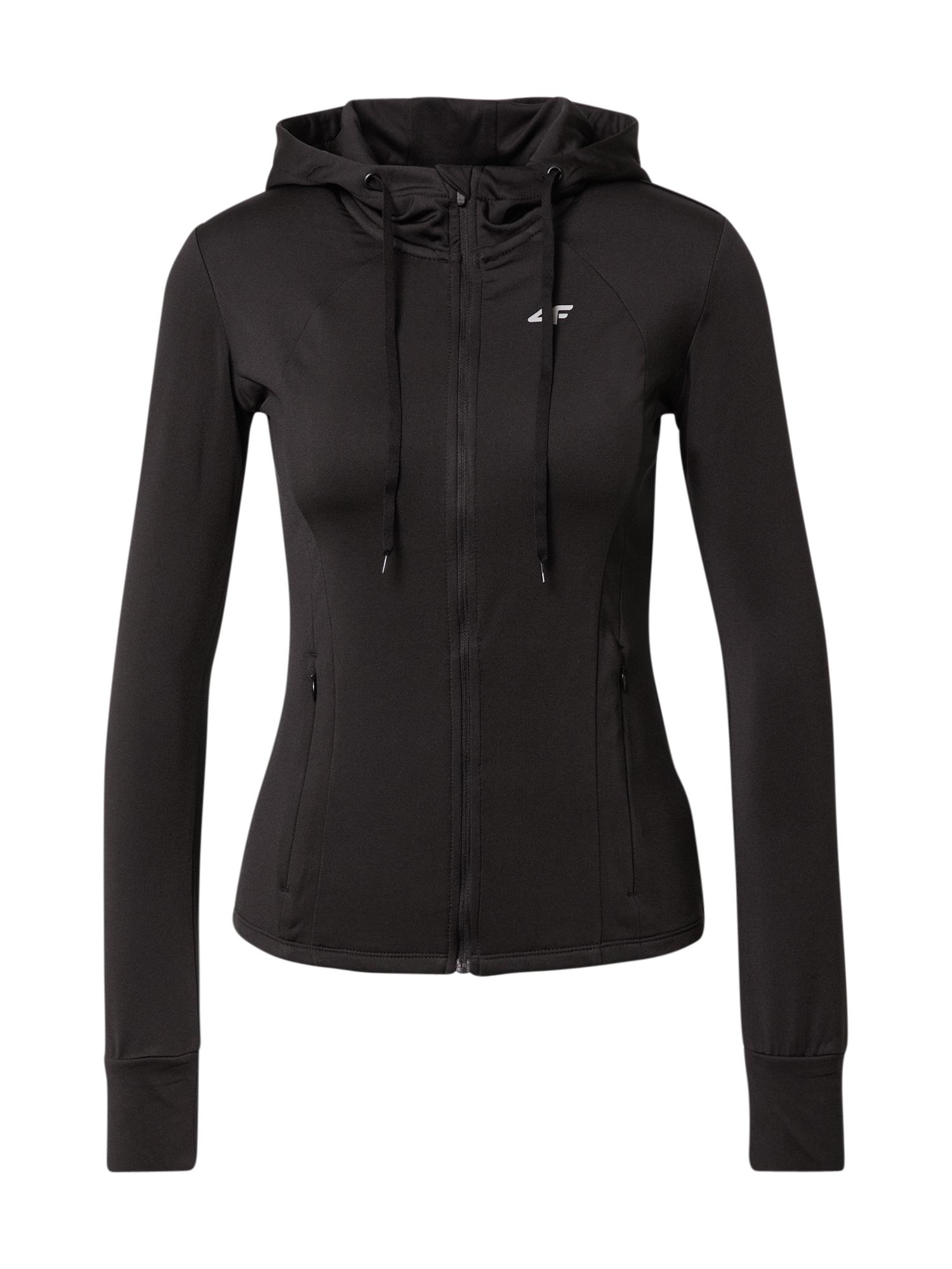 4F Sportinis džemperis juoda