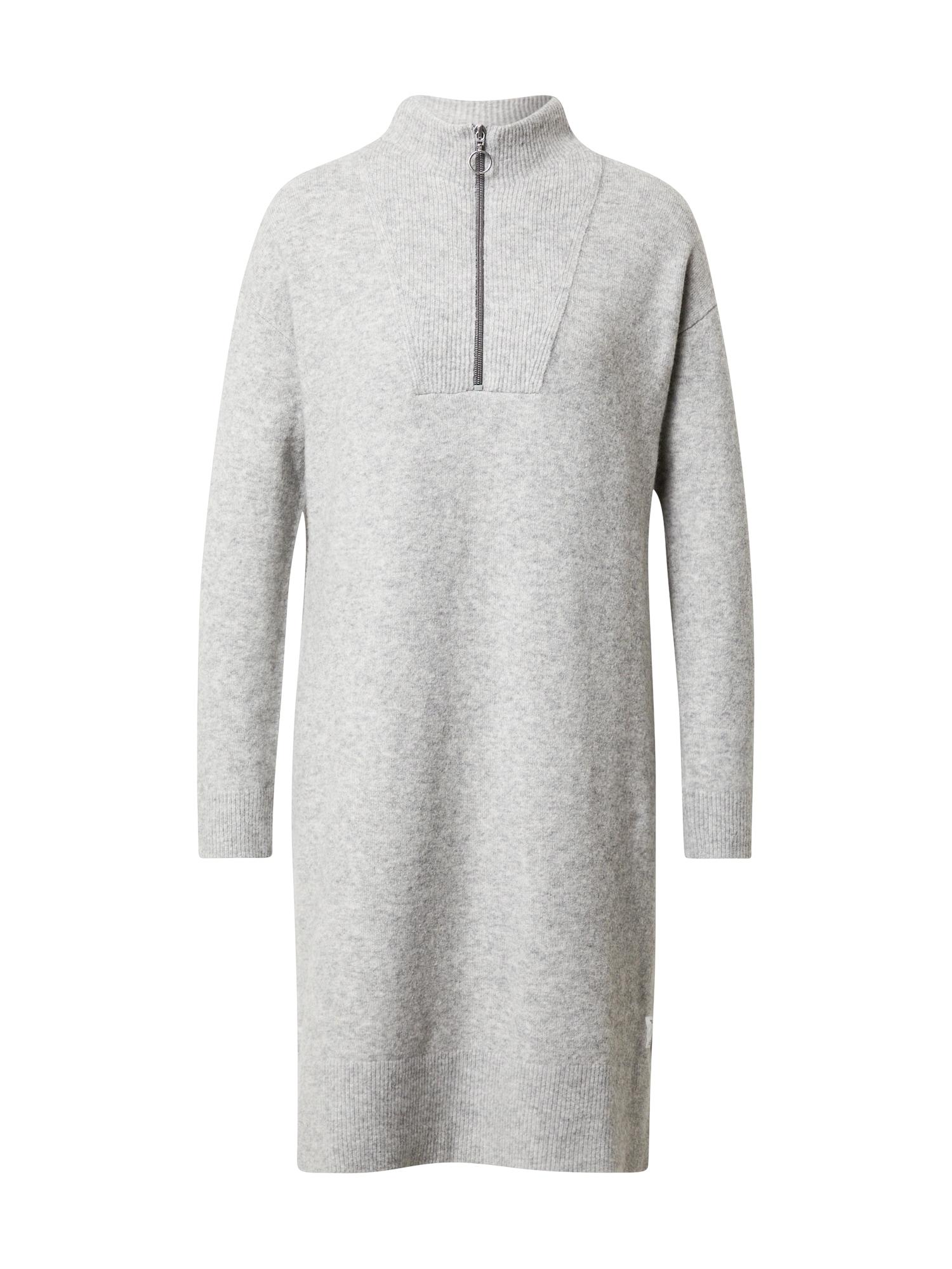 Marc O'Polo DENIM Úpletové šaty  šedá