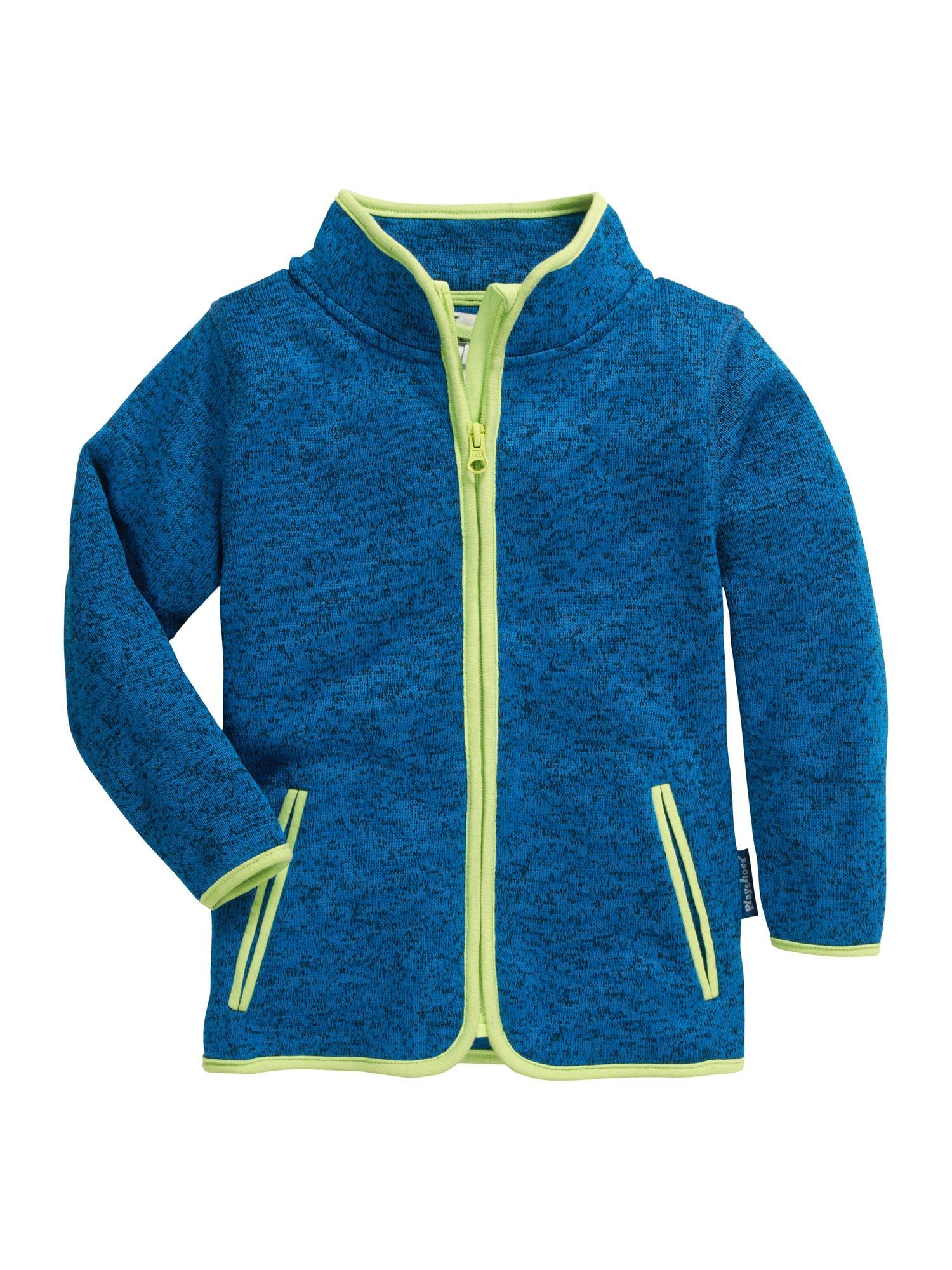 "PLAYSHOES Flisinis džemperis sodri mėlyna (""karališka"") / neoninė mėlyna"