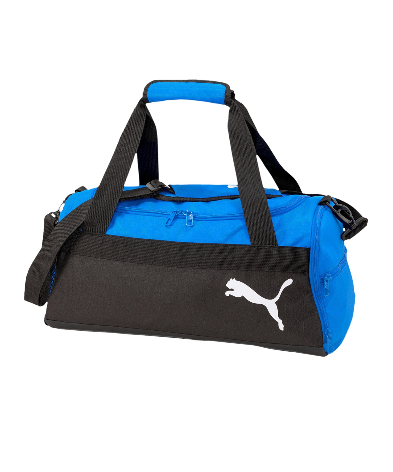 "PUMA Sportinis krepšys juoda / sodri mėlyna (""karališka"")"