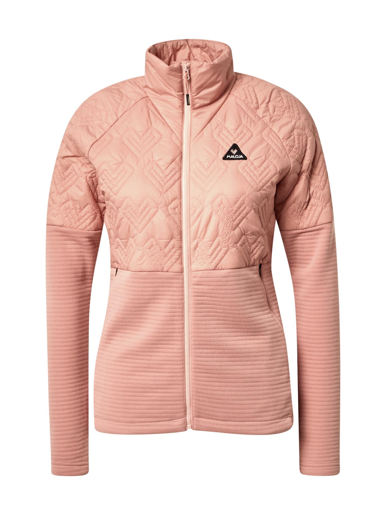 Maloja Sportovní bunda 'Sikam M.'  pink