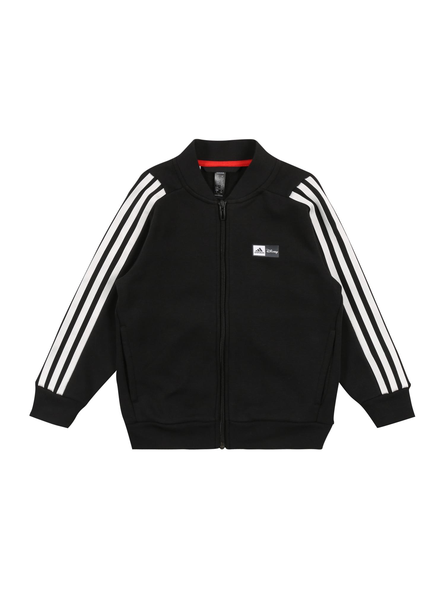 ADIDAS PERFORMANCE Sportinis džemperis 'Mickey Maus' juoda / balta / raudona / geltona