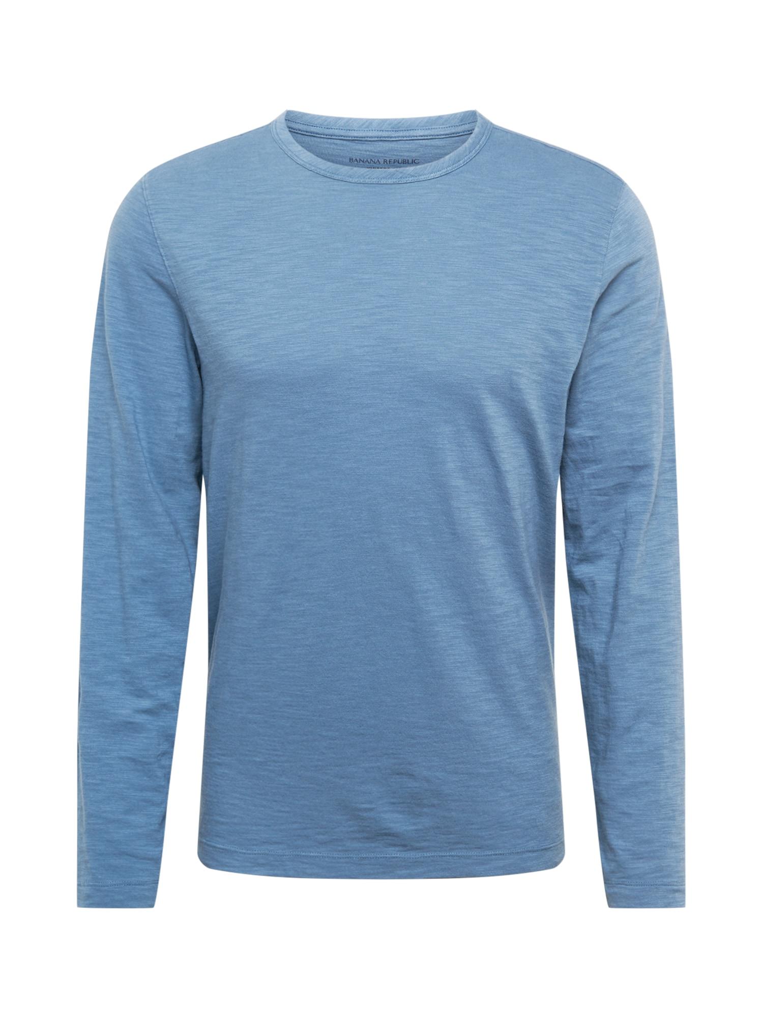 Banana Republic Marškinėliai mėlyna dūmų spalva