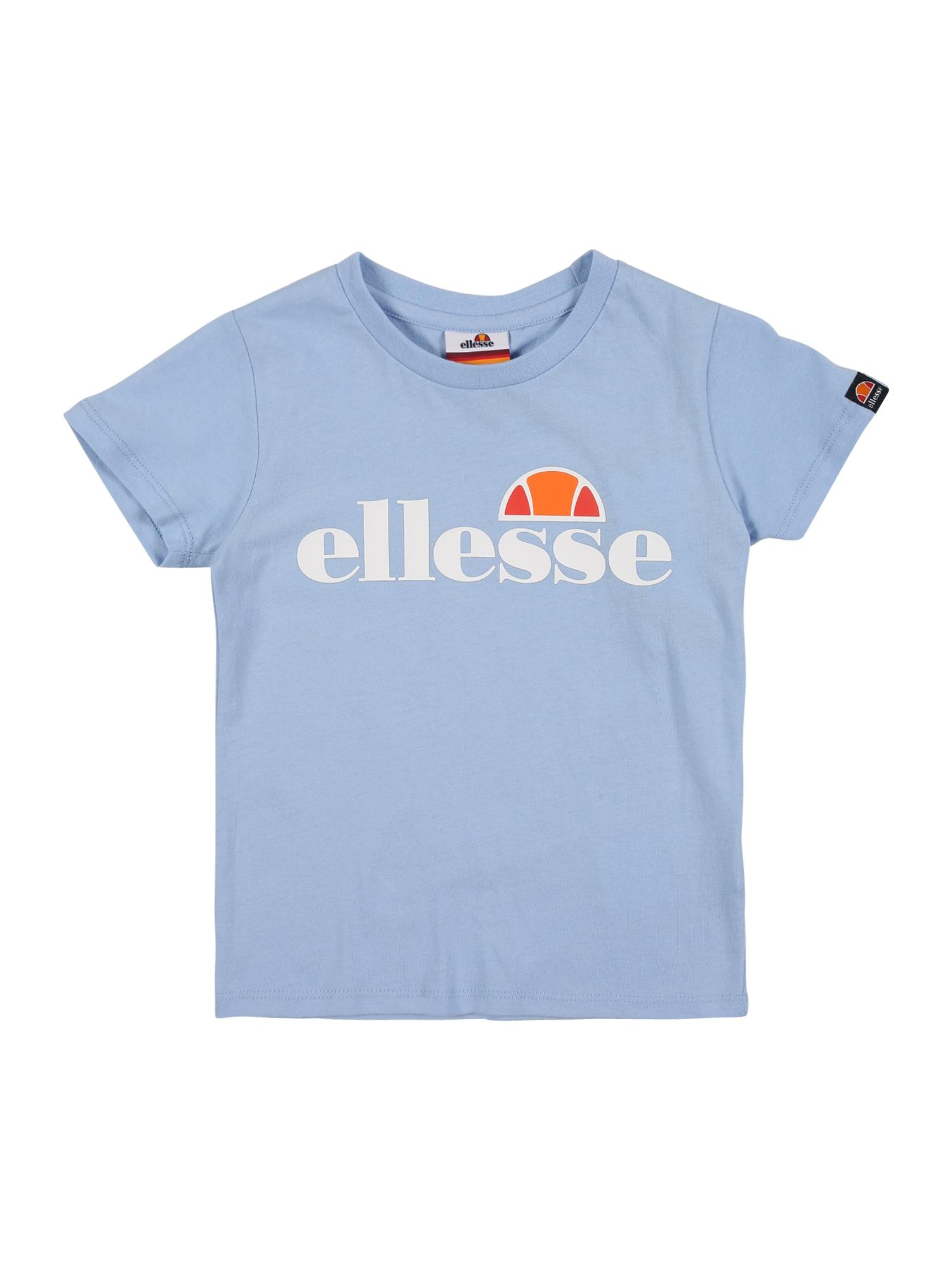 ELLESSE Marškinėliai 'Malia' šviesiai mėlyna / balta