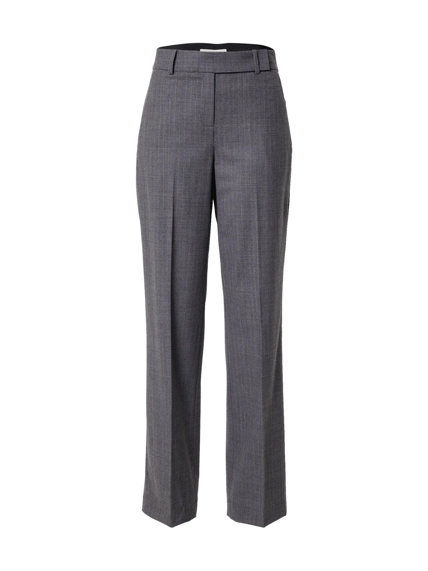 MICHAEL Michael Kors Kelnės su kantu pilka / šviesiai pilka