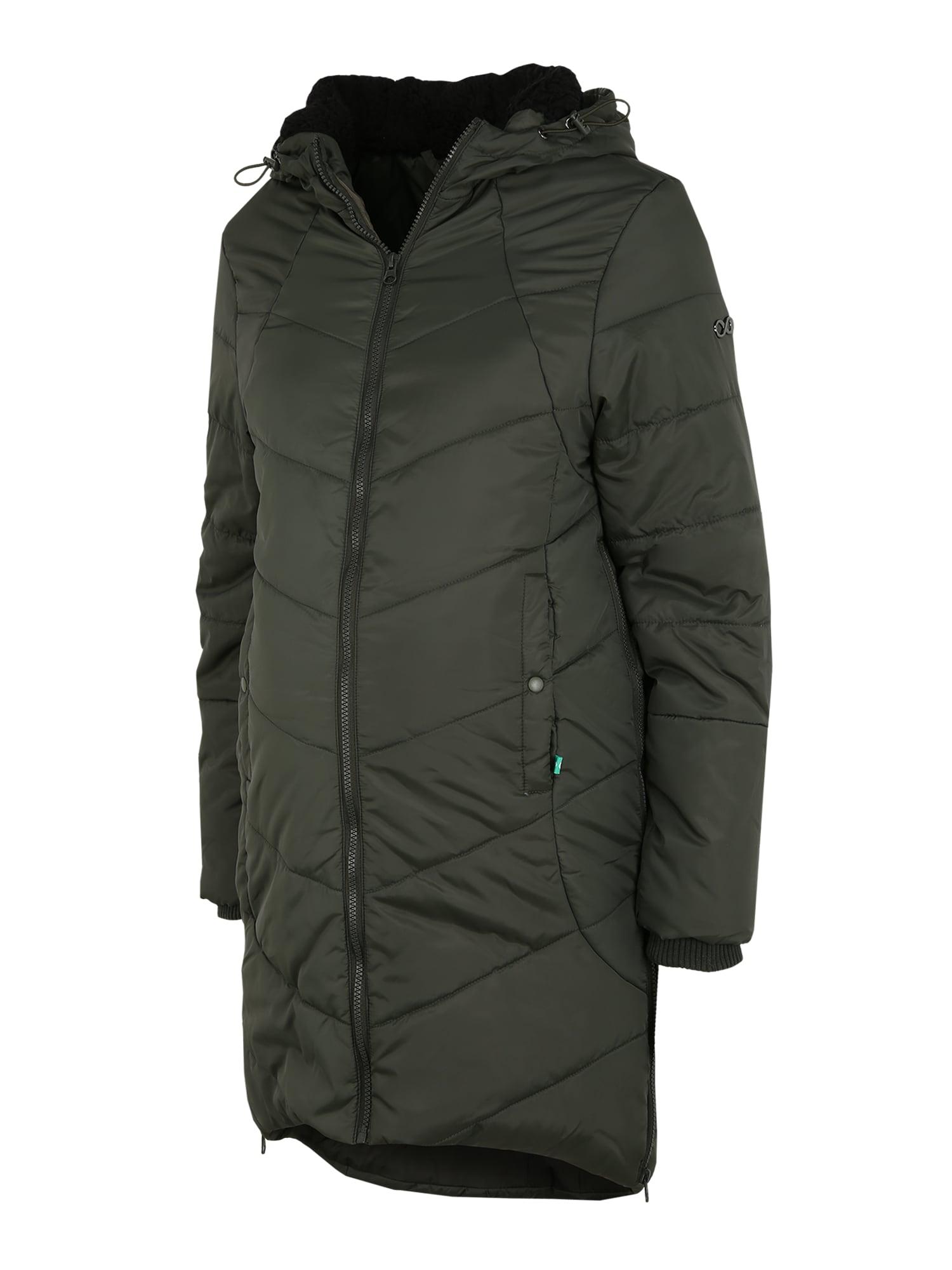 Modern Eternity Žieminis paltas rusvai žalia